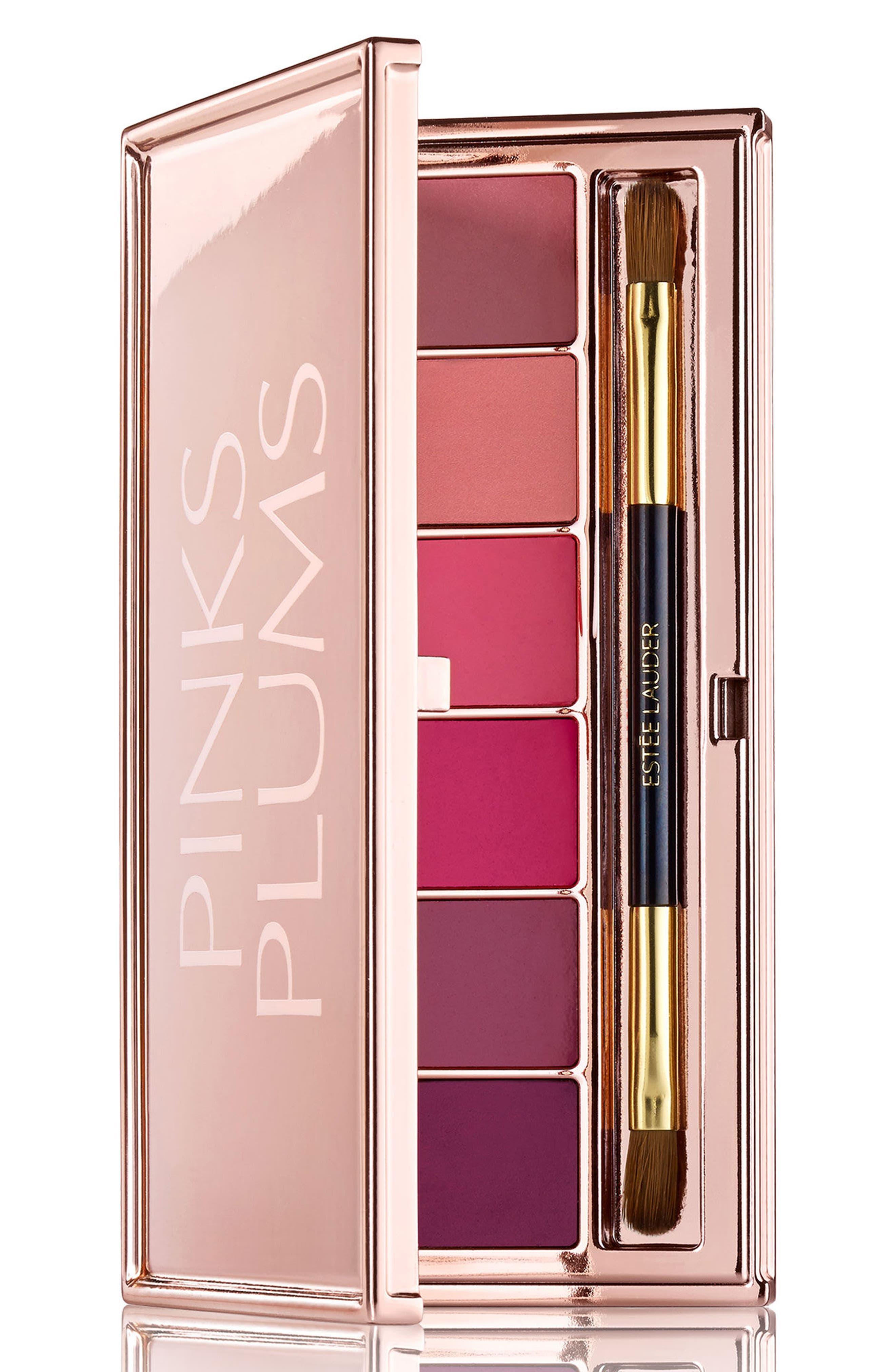 Pinks + Plums Lip Palette,                             Main thumbnail 1, color,                             No Color