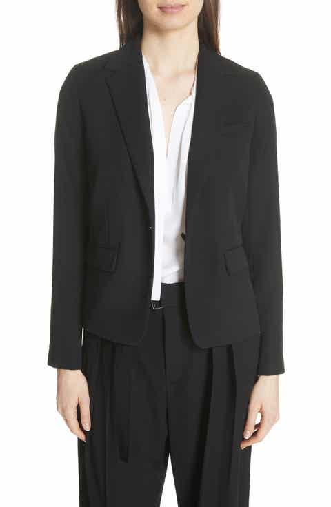 Vince One-Button Blazer Top Reviews