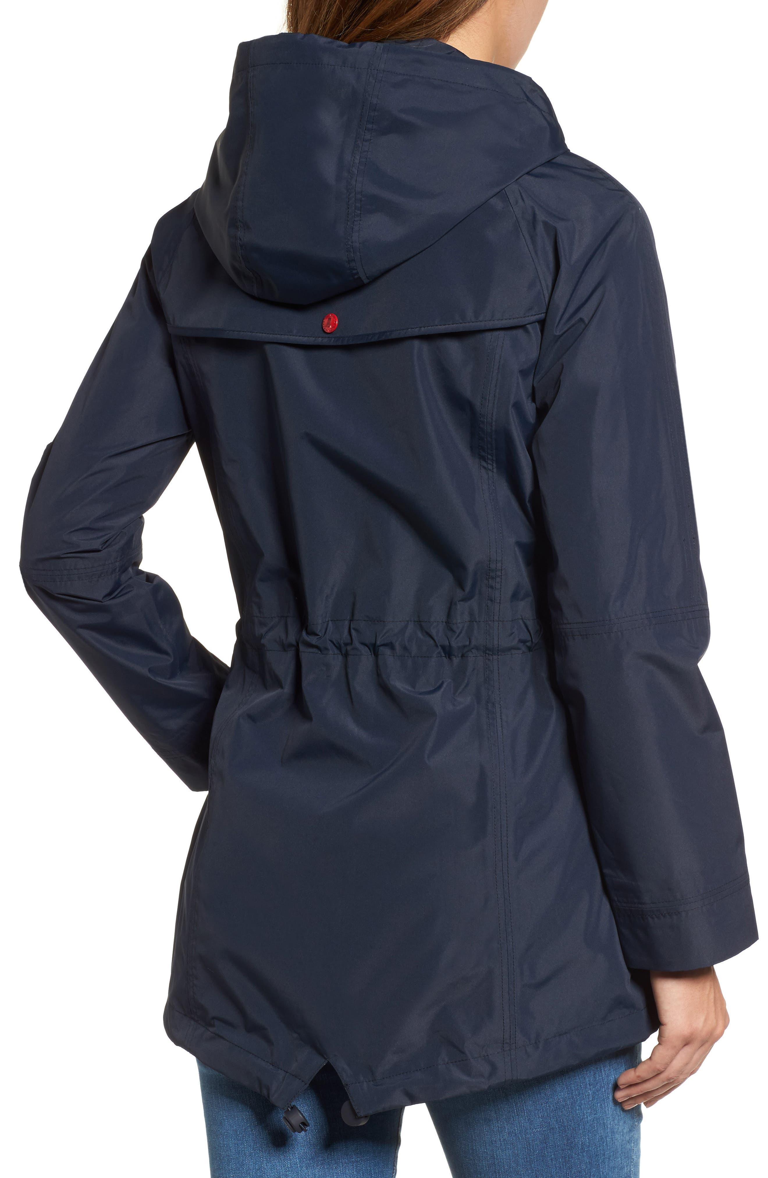 Trevose Hooded Jacket,                             Alternate thumbnail 2, color,                             Navy