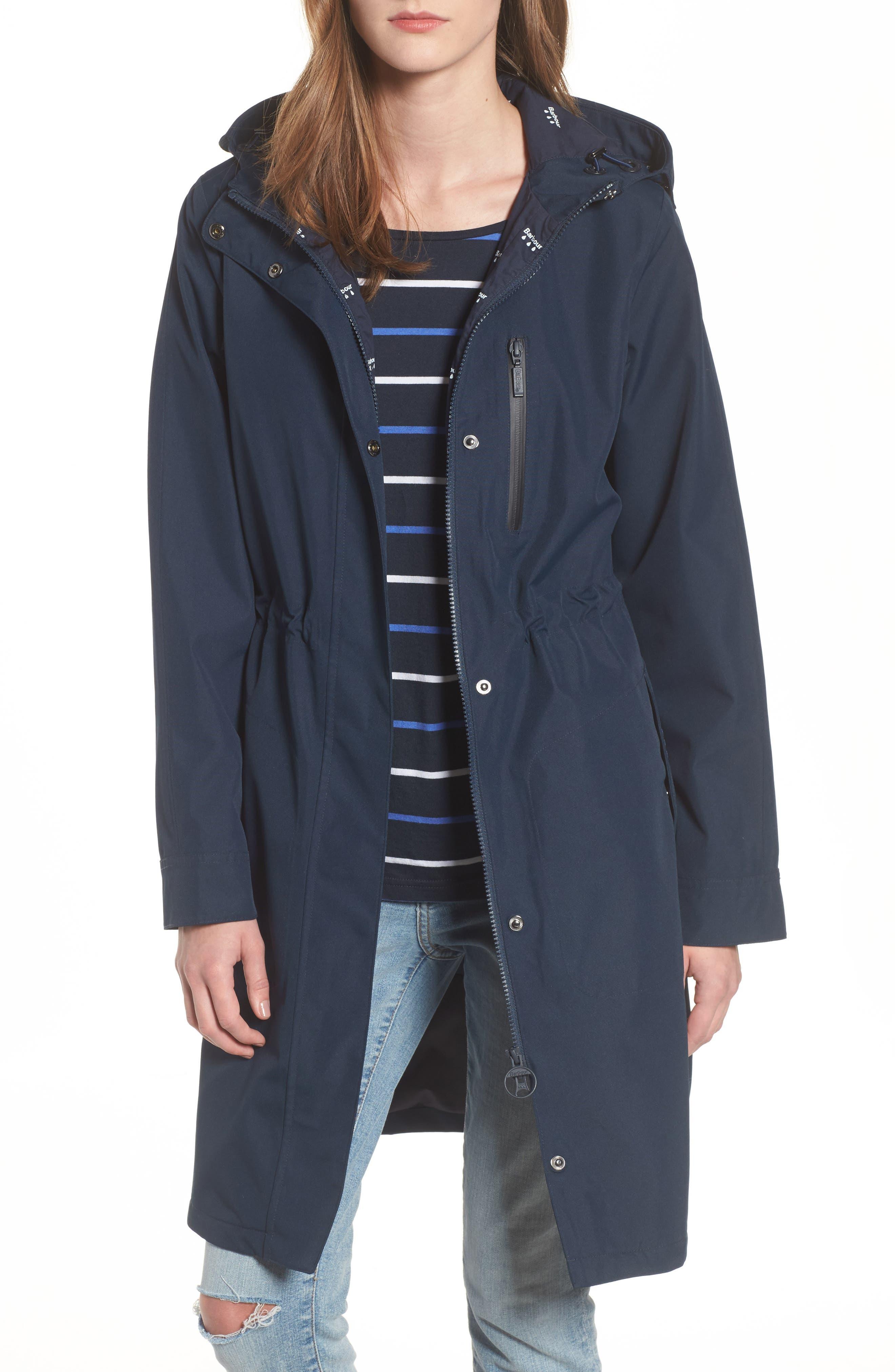 Barbour Sleet Hooded Jacket