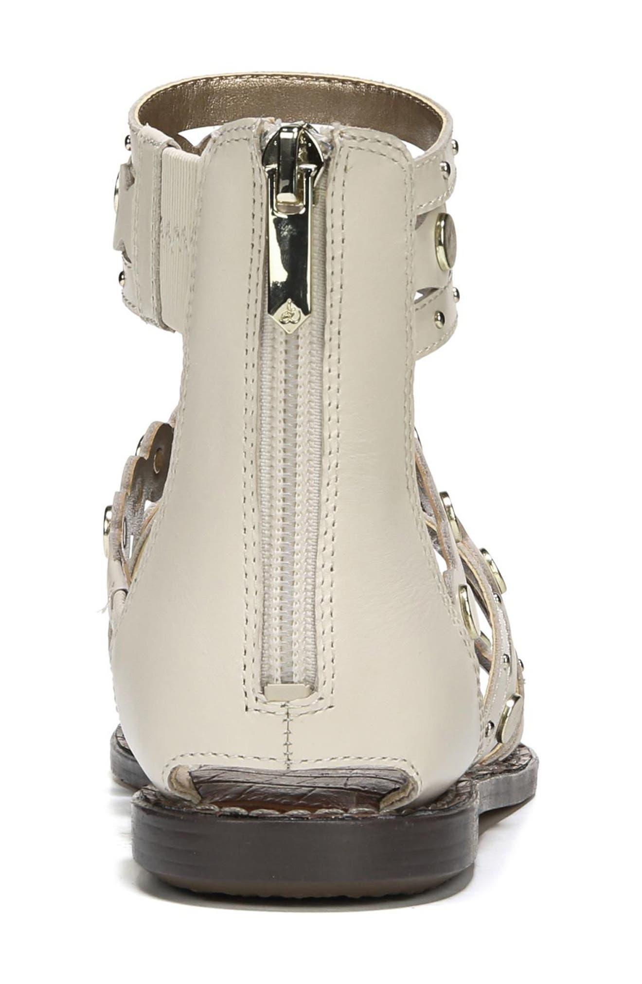 Geren Sandal,                             Alternate thumbnail 5, color,                             Modern Ivory Leather