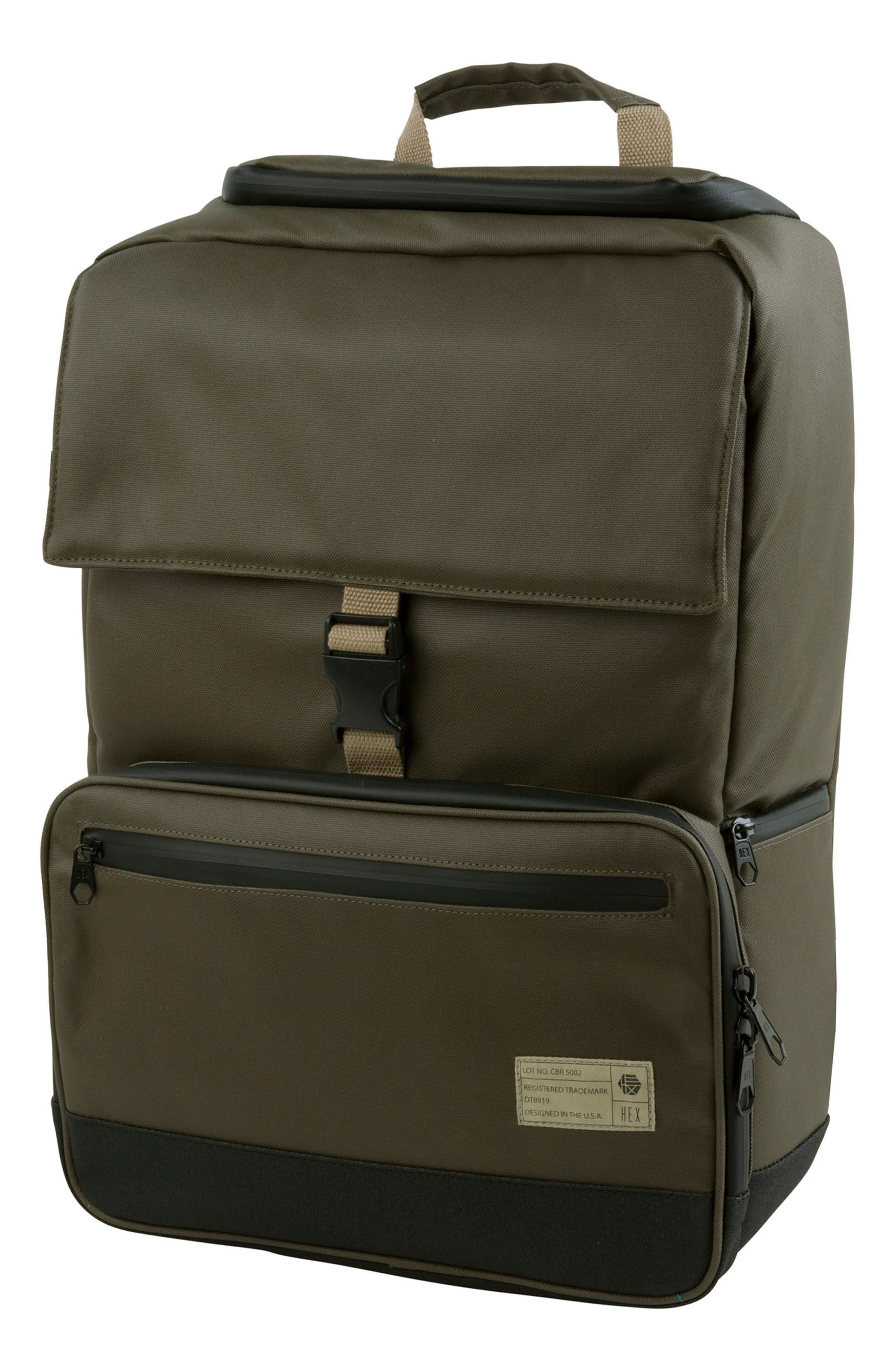 DSLR Camera Backpack,                             Main thumbnail 1, color,                             Olive