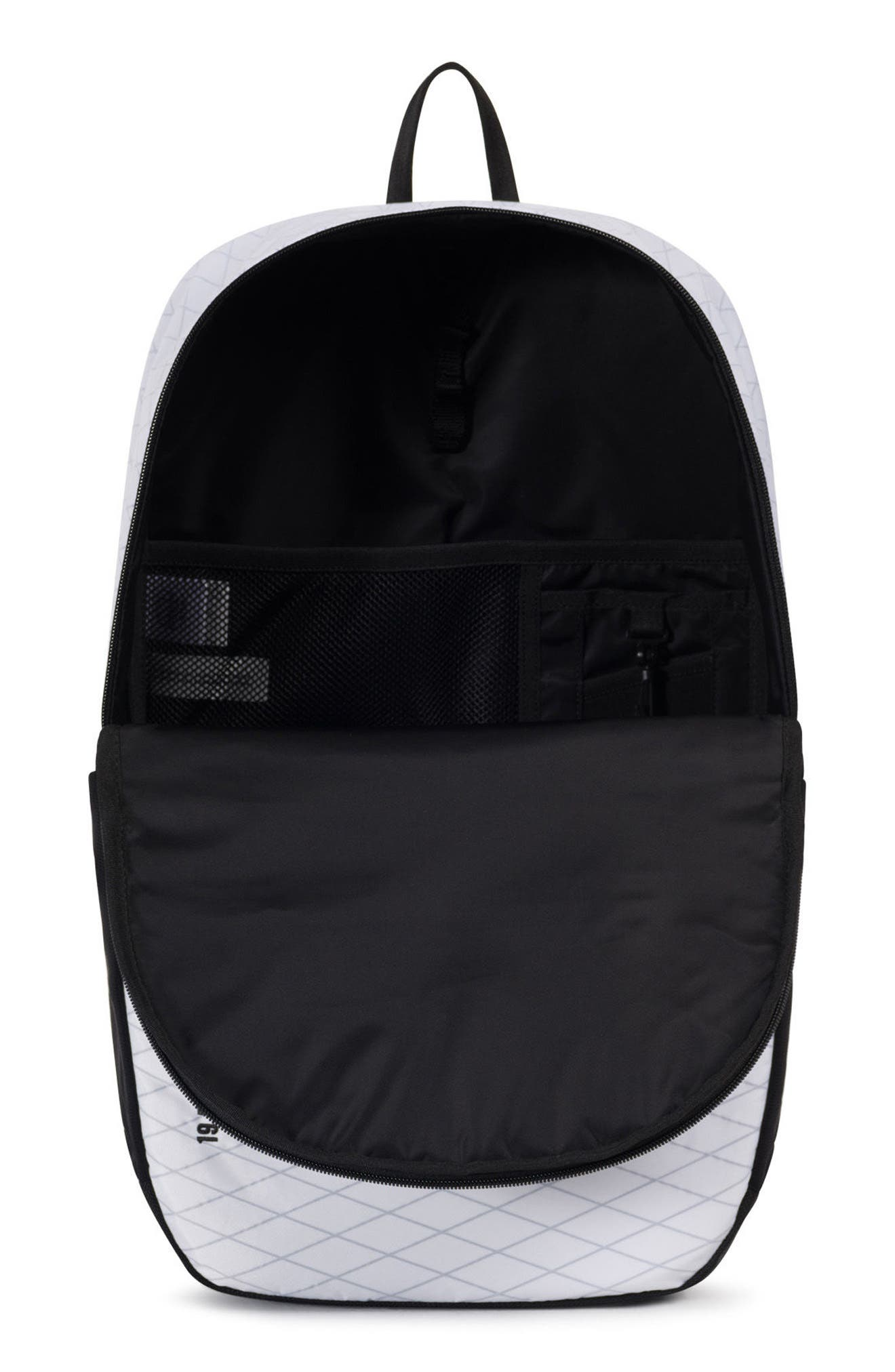 Trail Sailcloth Mammoth Large Backpack,                             Alternate thumbnail 3, color,                             White/ Black