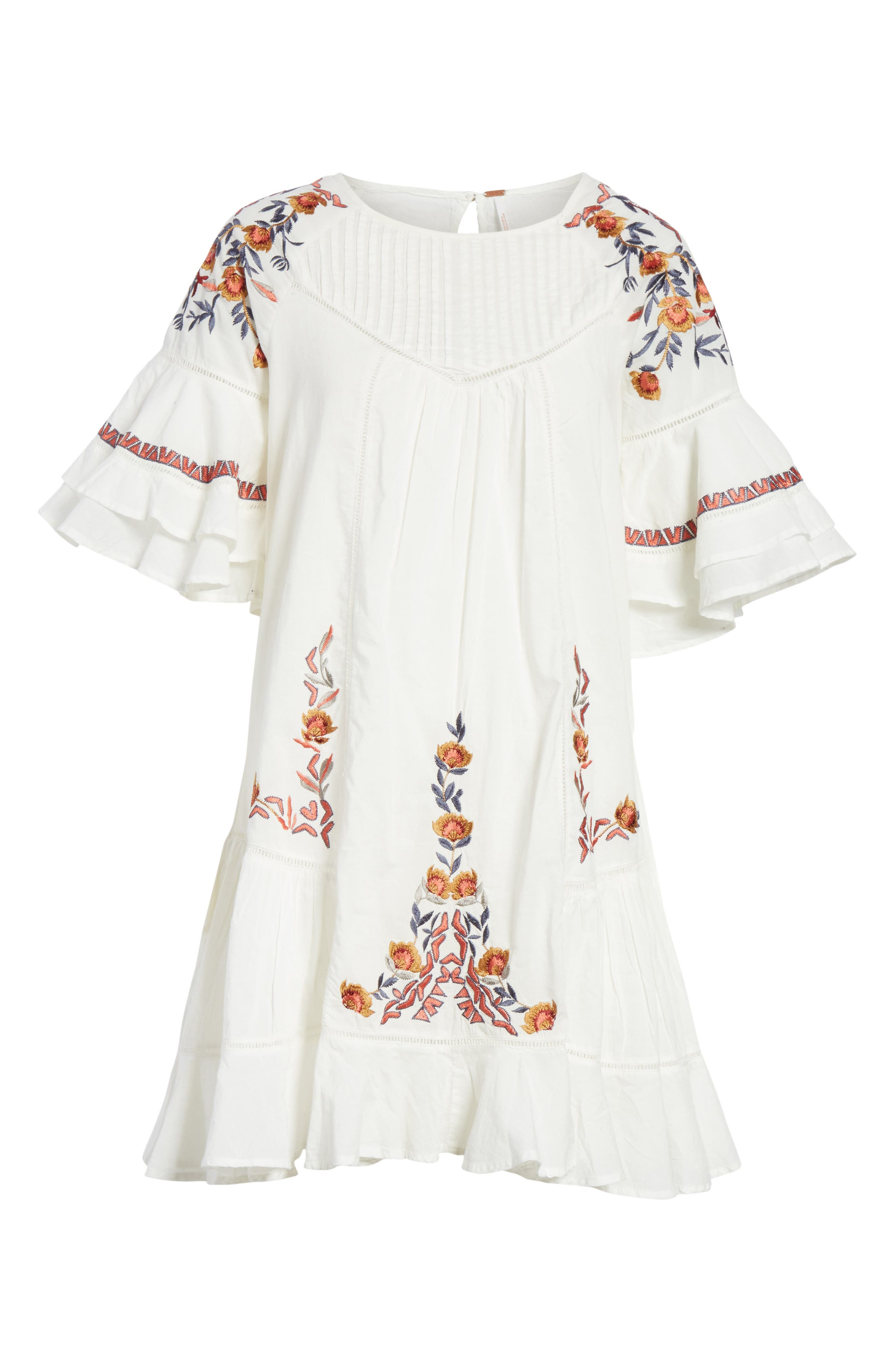 Pavlo Babydoll Dress,                             Alternate thumbnail 6, color,                             Ivory