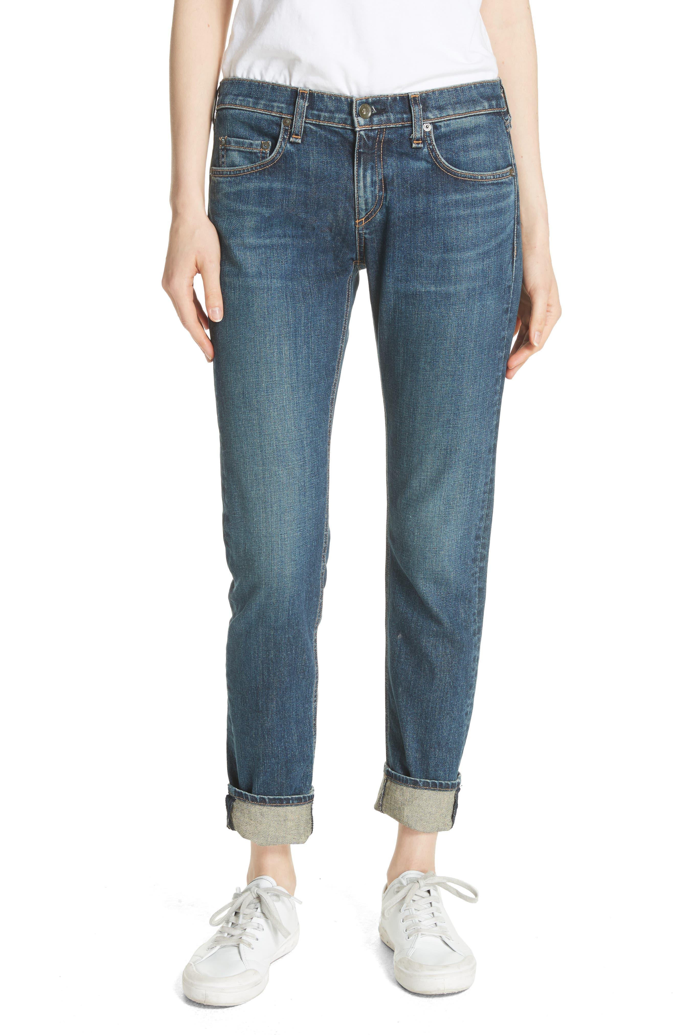 The Dre Slim Boyfriend Jeans,                         Main,                         color, Rylen