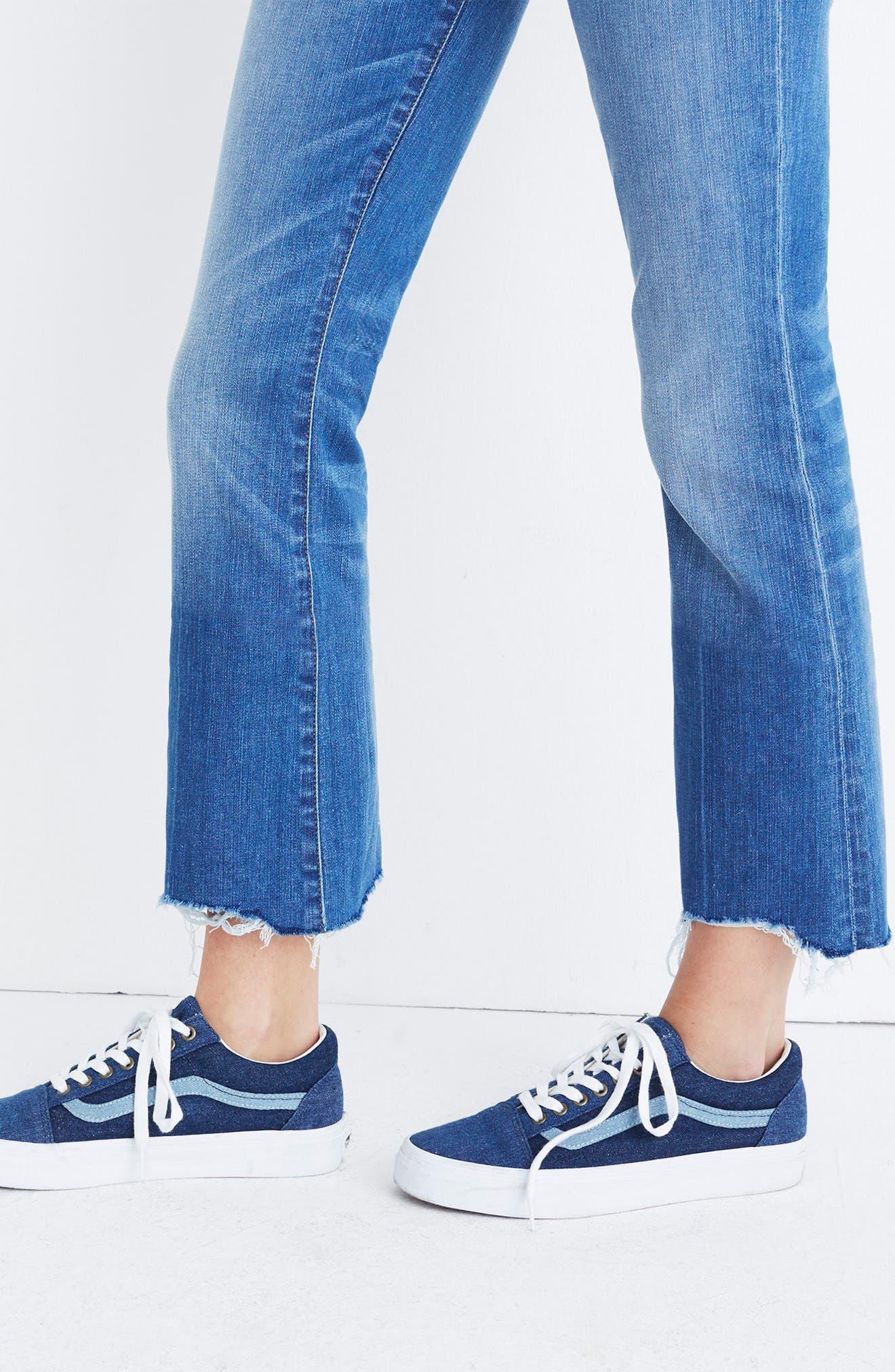 Cali Demi Boot Jeans,                             Alternate thumbnail 3, color,                             Haywood Wash