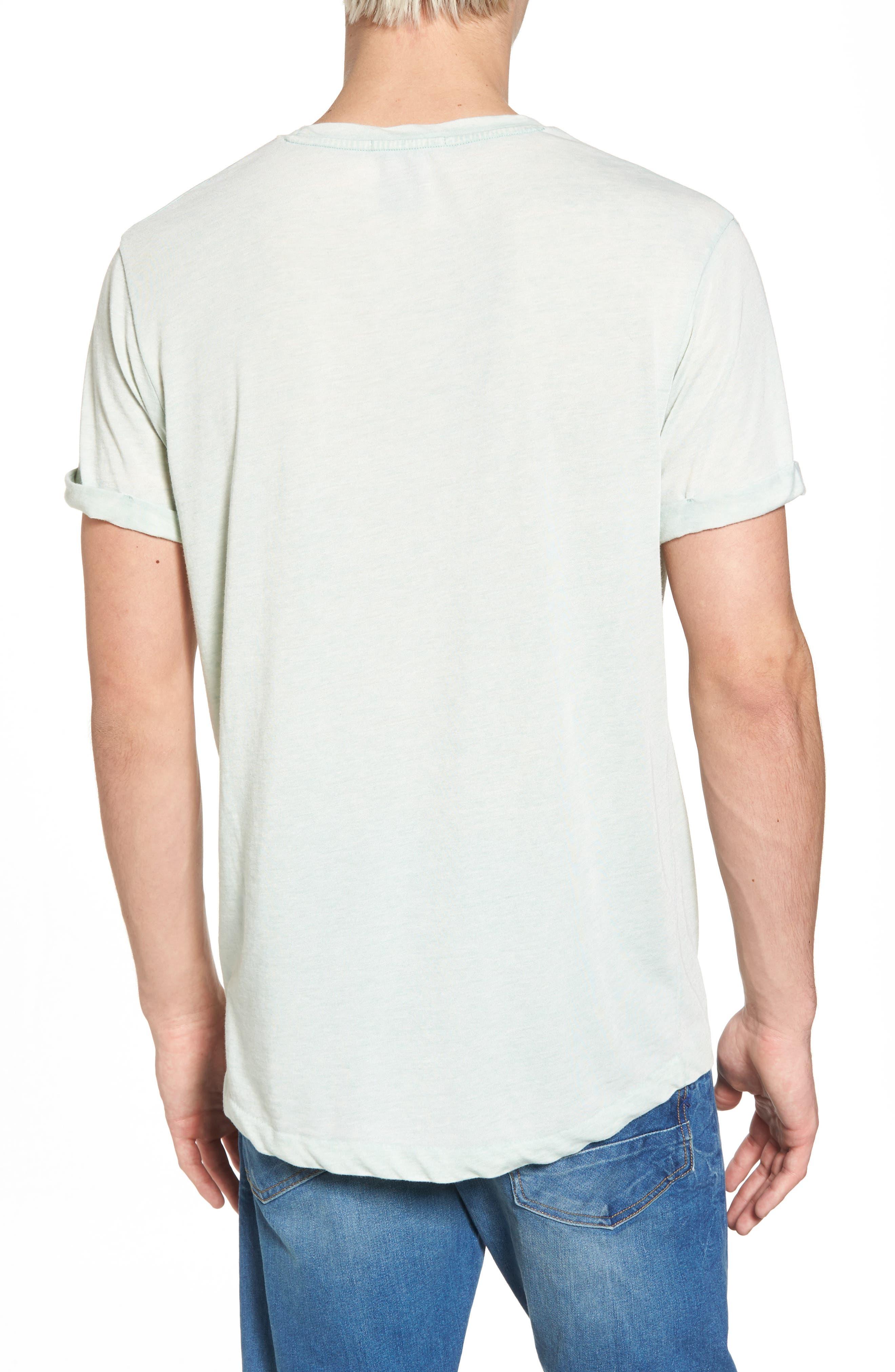 Ausbrenner T-Shirt,                             Alternate thumbnail 2, color,                             Seafoam Green Melange