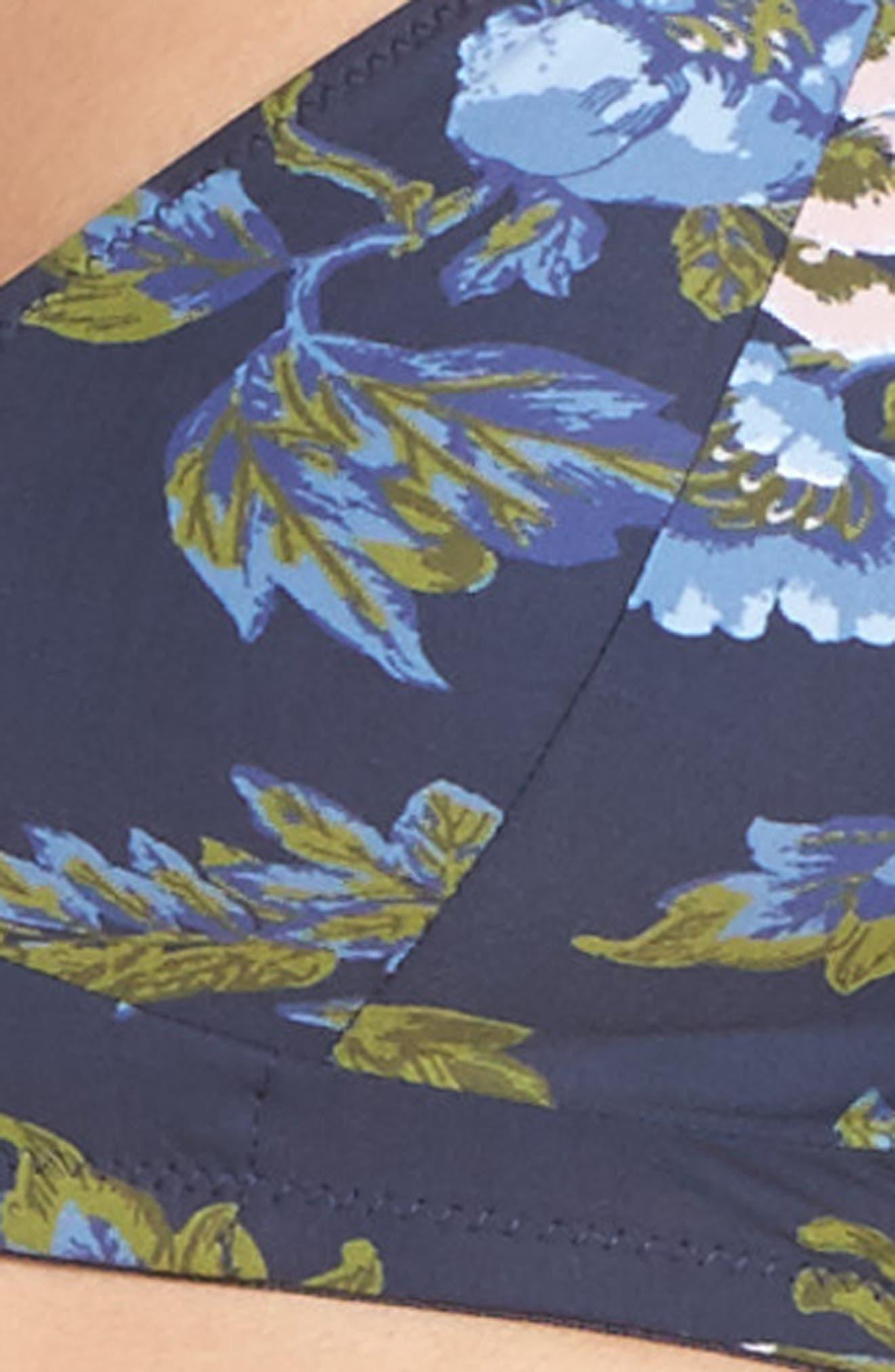 Zahra Bralette,                             Alternate thumbnail 9, color,                             Big Flower Print