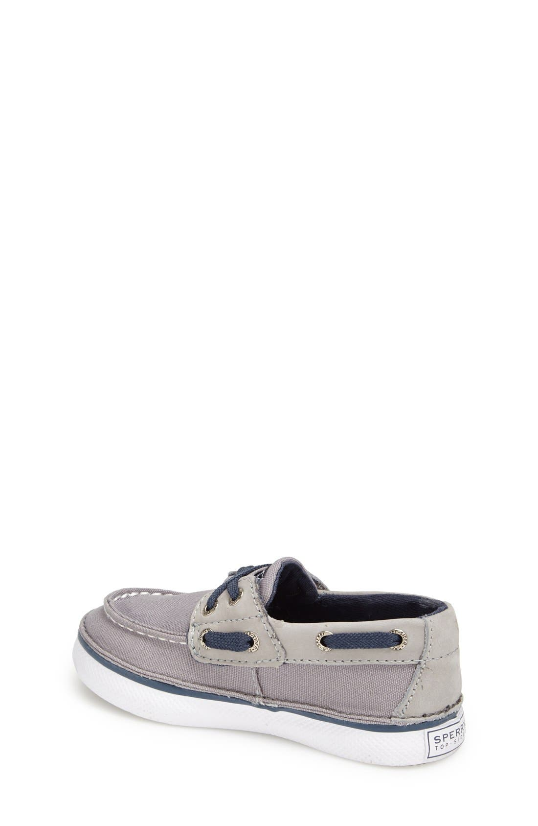 Alternate Image 2  - Sperry Kids 'Cruz Jr.' Slip-On Boat Shoe (Walker & Toddler)
