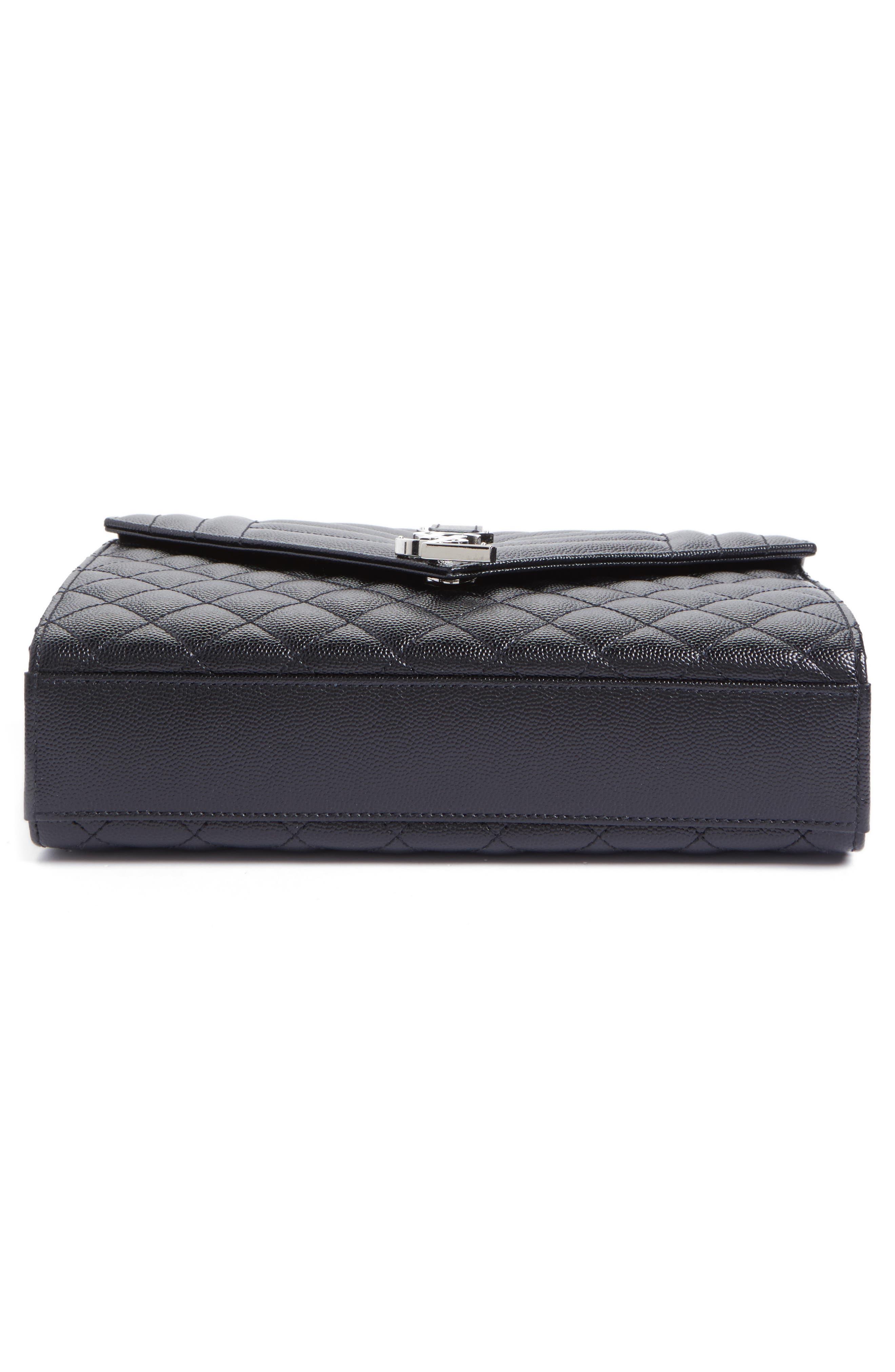 Alternate Image 6  - Saint Laurent Medium Monogram Quilted Leather Shoulder Bag