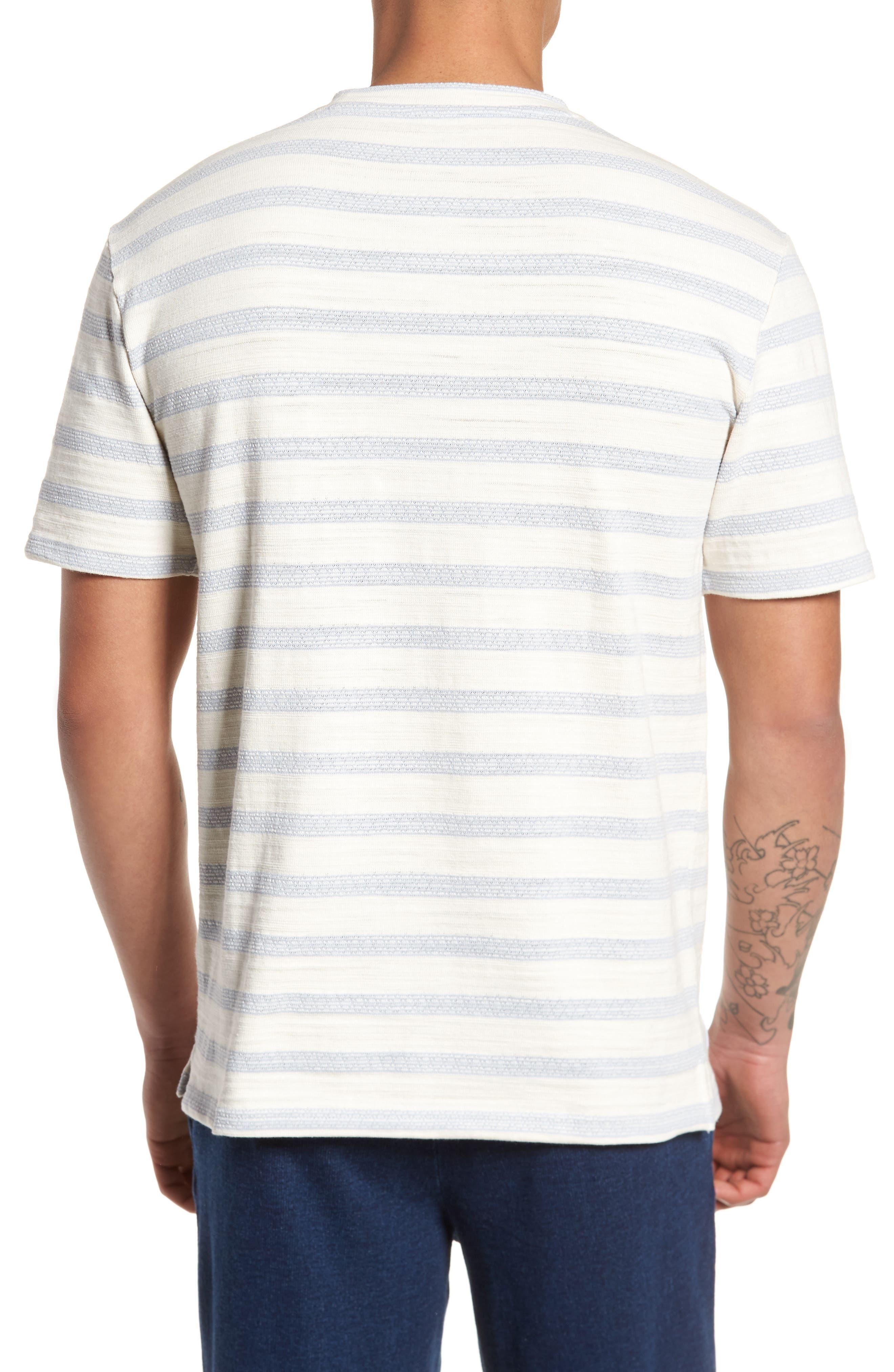 Waves T-Shirt,                             Alternate thumbnail 2, color,                             Off White