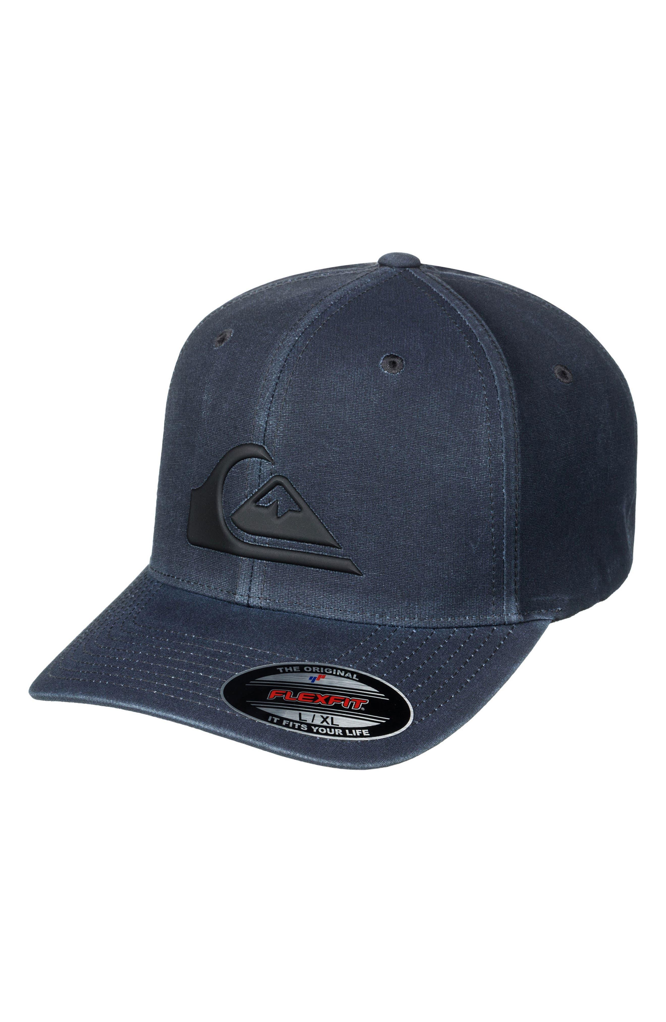 Union Flex Fit Baseball Cap,                             Main thumbnail 1, color,                             Black