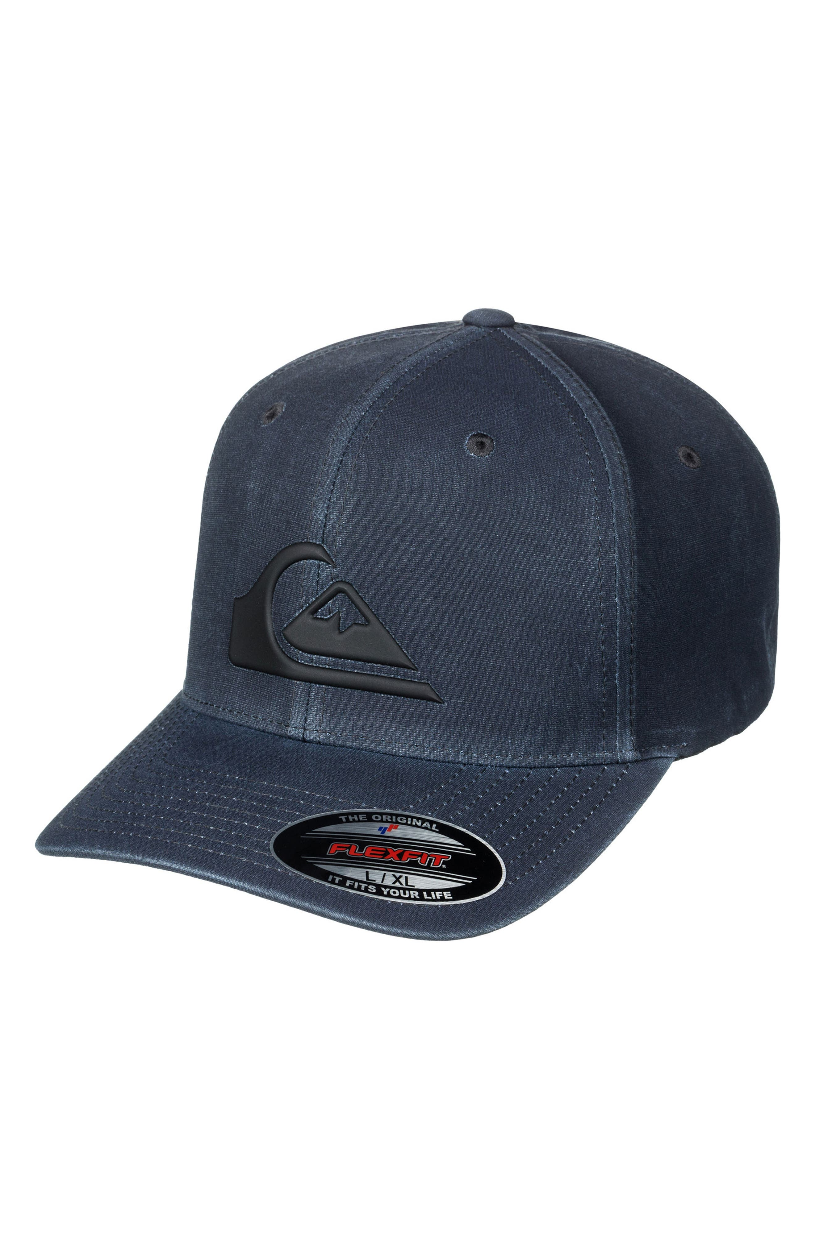 Union Flex Fit Baseball Cap,                         Main,                         color, Black