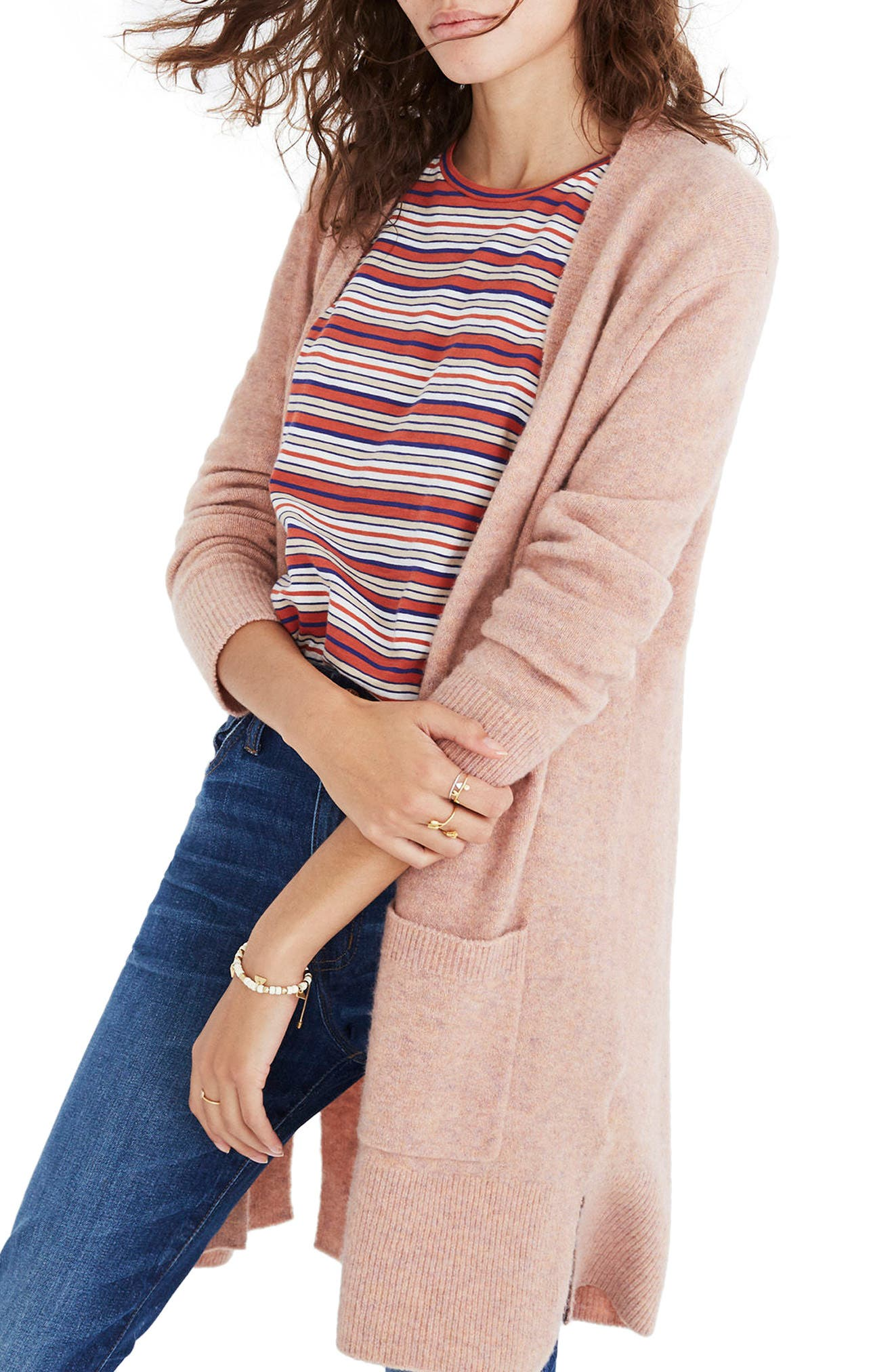Alternate Image 1 Selected - Madewell Kent Cardigan Sweater