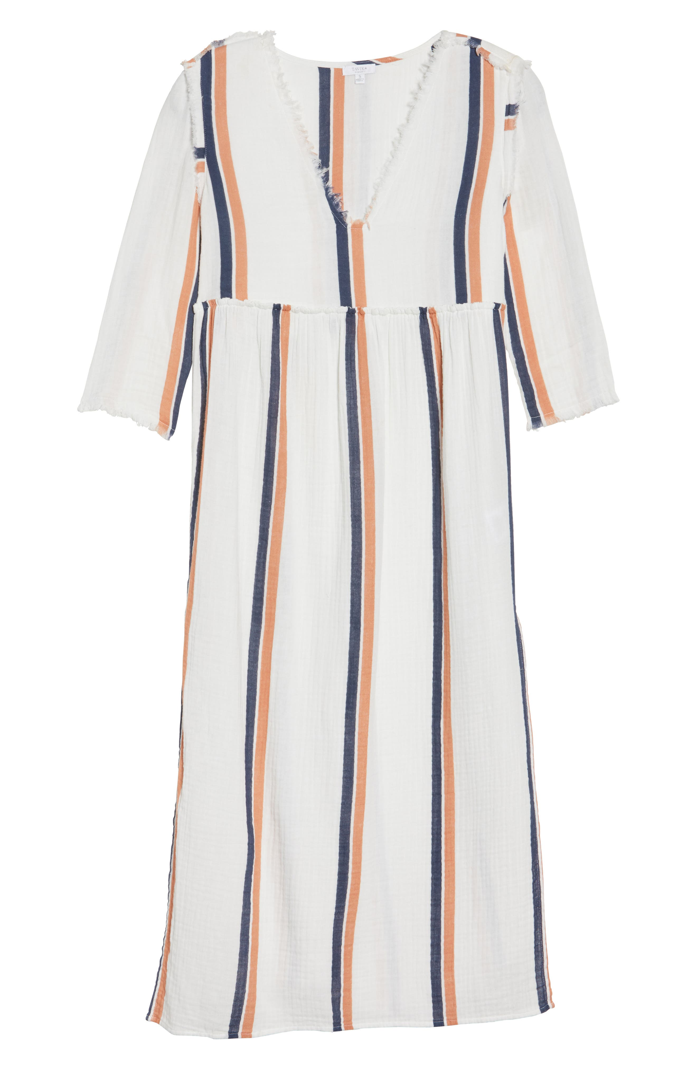 Oria Cover-Up Dress,                             Alternate thumbnail 6, color,                             Augustus Desert Clay