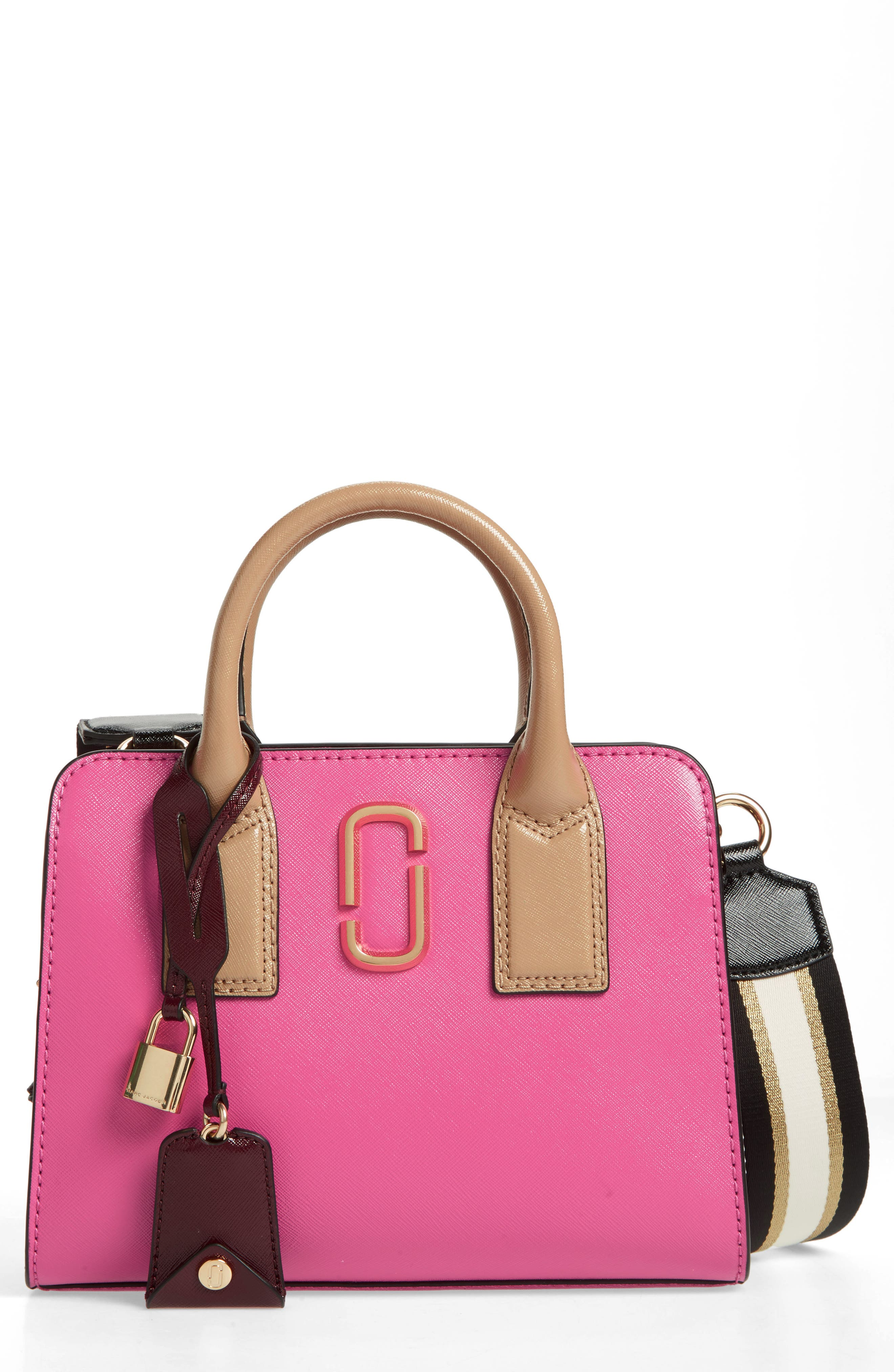 MARC JACOBS Little Big Shot Leather Tote