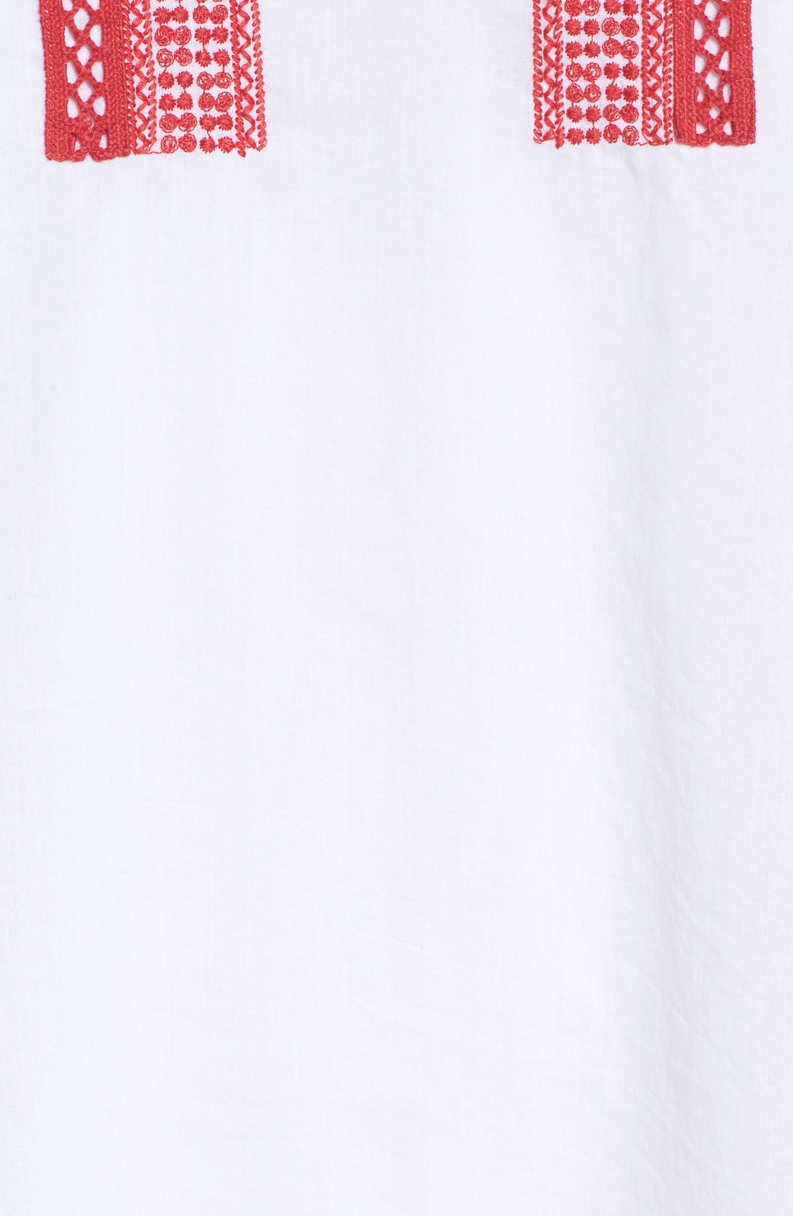 Alternate Image 5  - Hinge Embroidered Lace Minidress