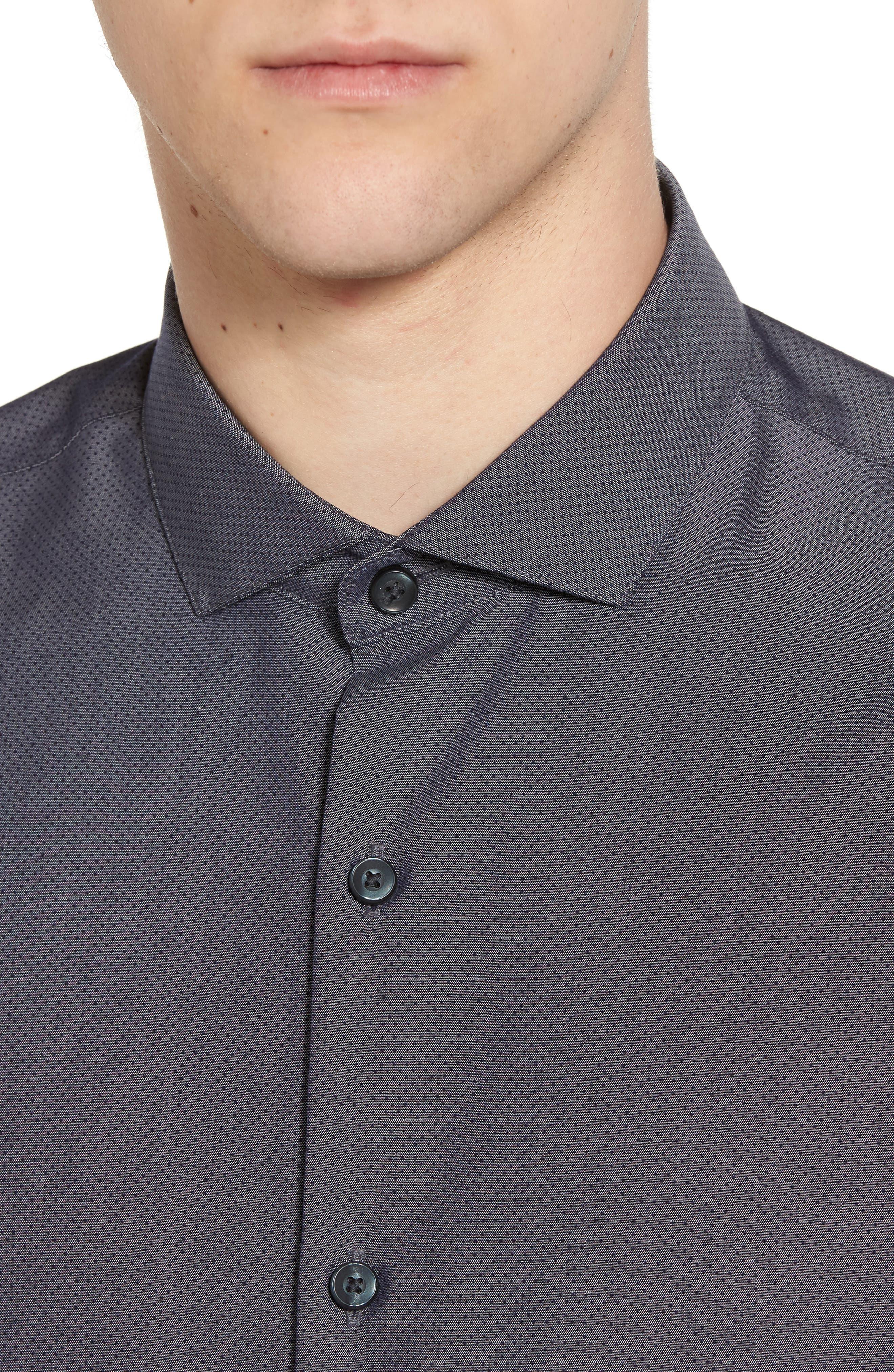 Alternate Image 2  - Calibrate Slim Fit Solid Sport Shirt