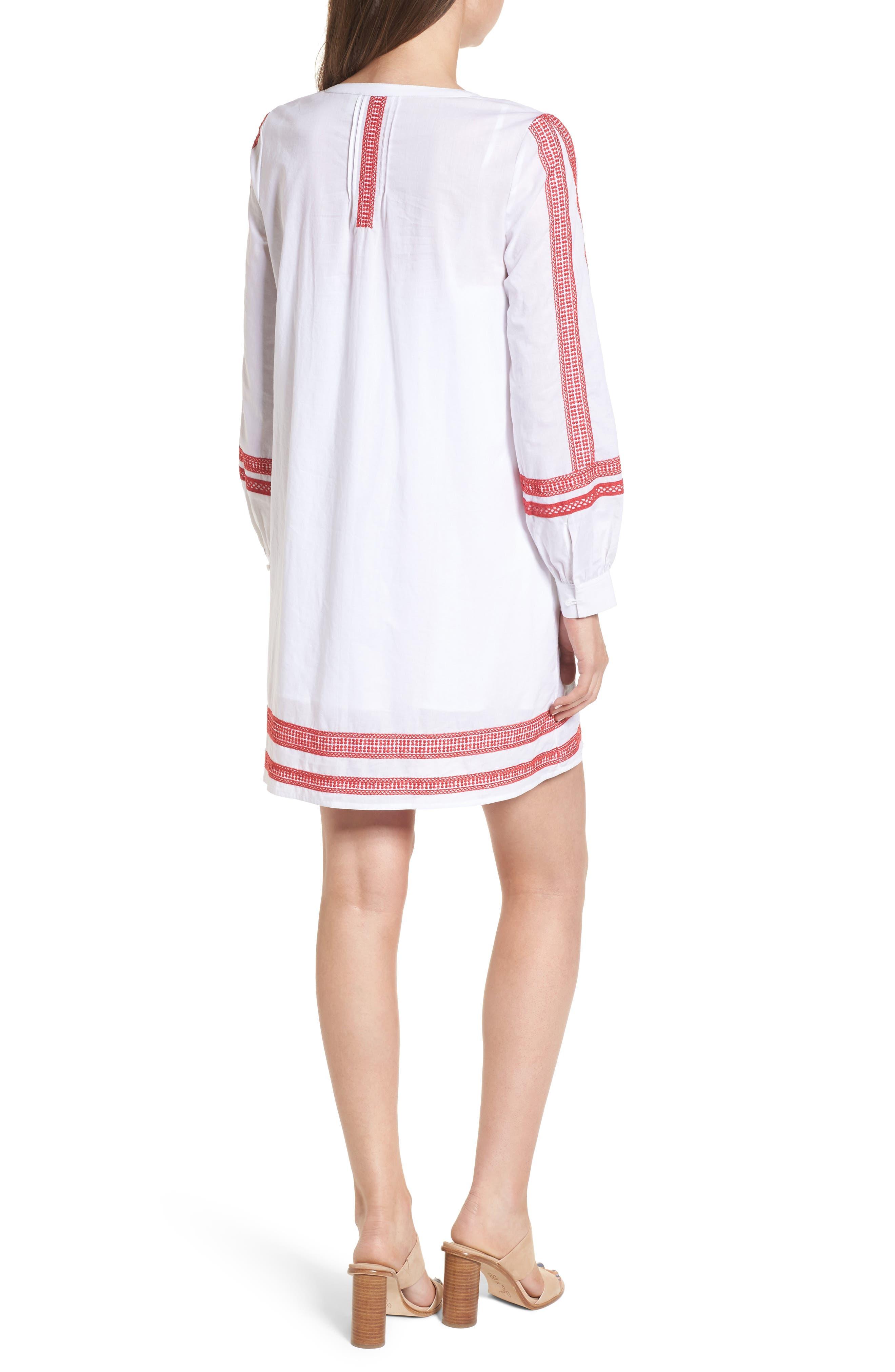 Alternate Image 2  - Hinge Embroidered Lace Minidress