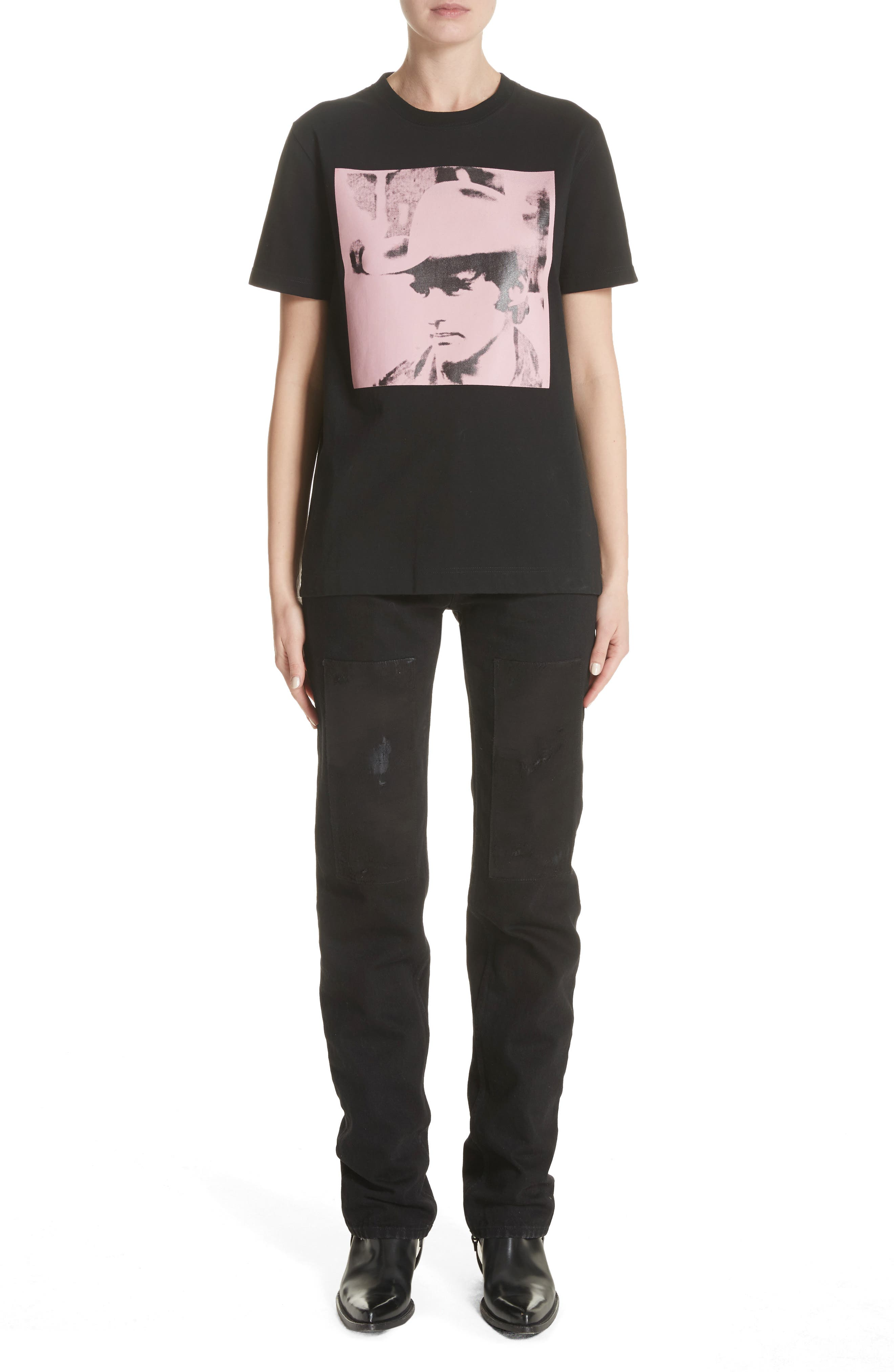 Alternate Image 2  - CALVIN KLEIN 205W39NYC x Andy Warhol Foundation Dennis Hopper Tee