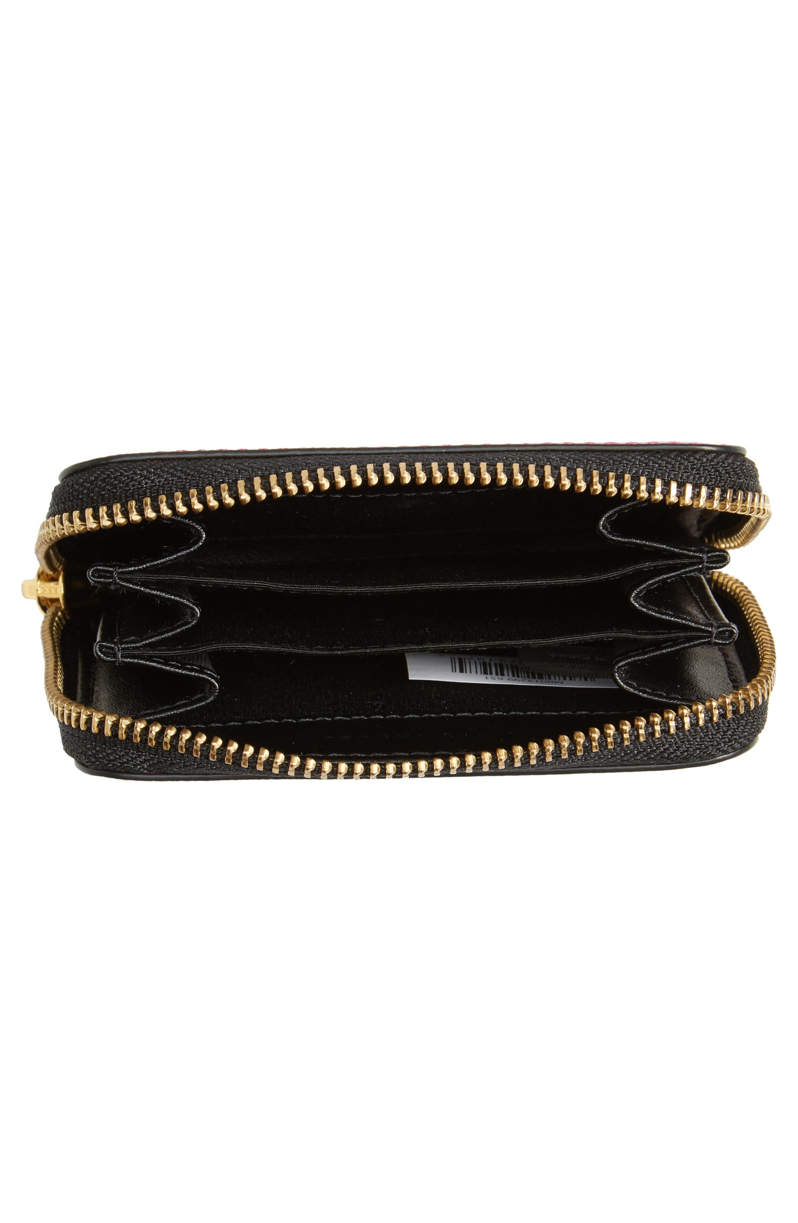 Alternate Image 2  - MARC JACOBS Snapshot Saffiano Leather Zip Around Wallet