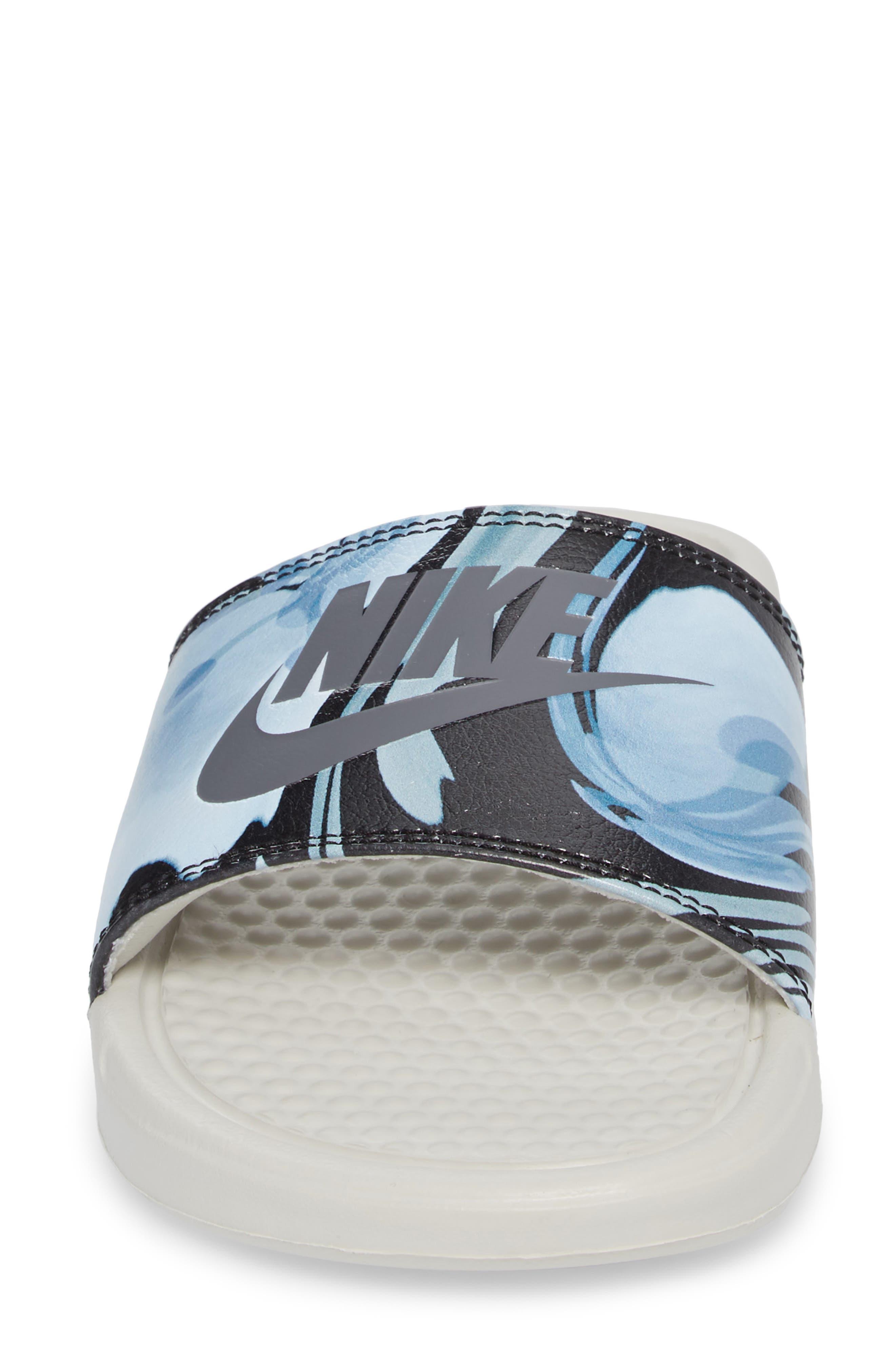 Alternate Image 4  - Nike 'Benassi - Just Do It' Print Sandal (Women)