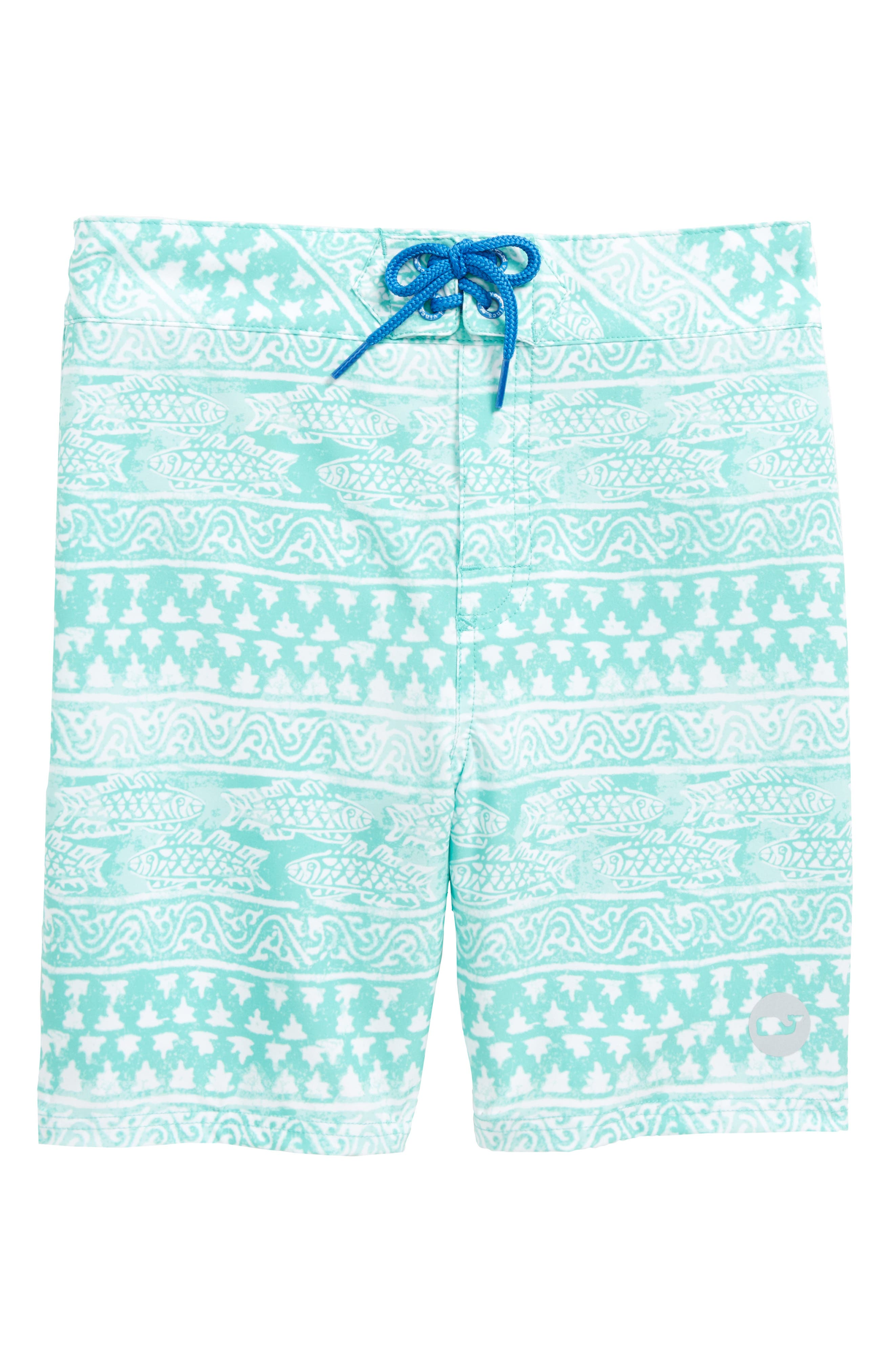 vineyard vines Fish Gate Board Shorts (Big Boys)