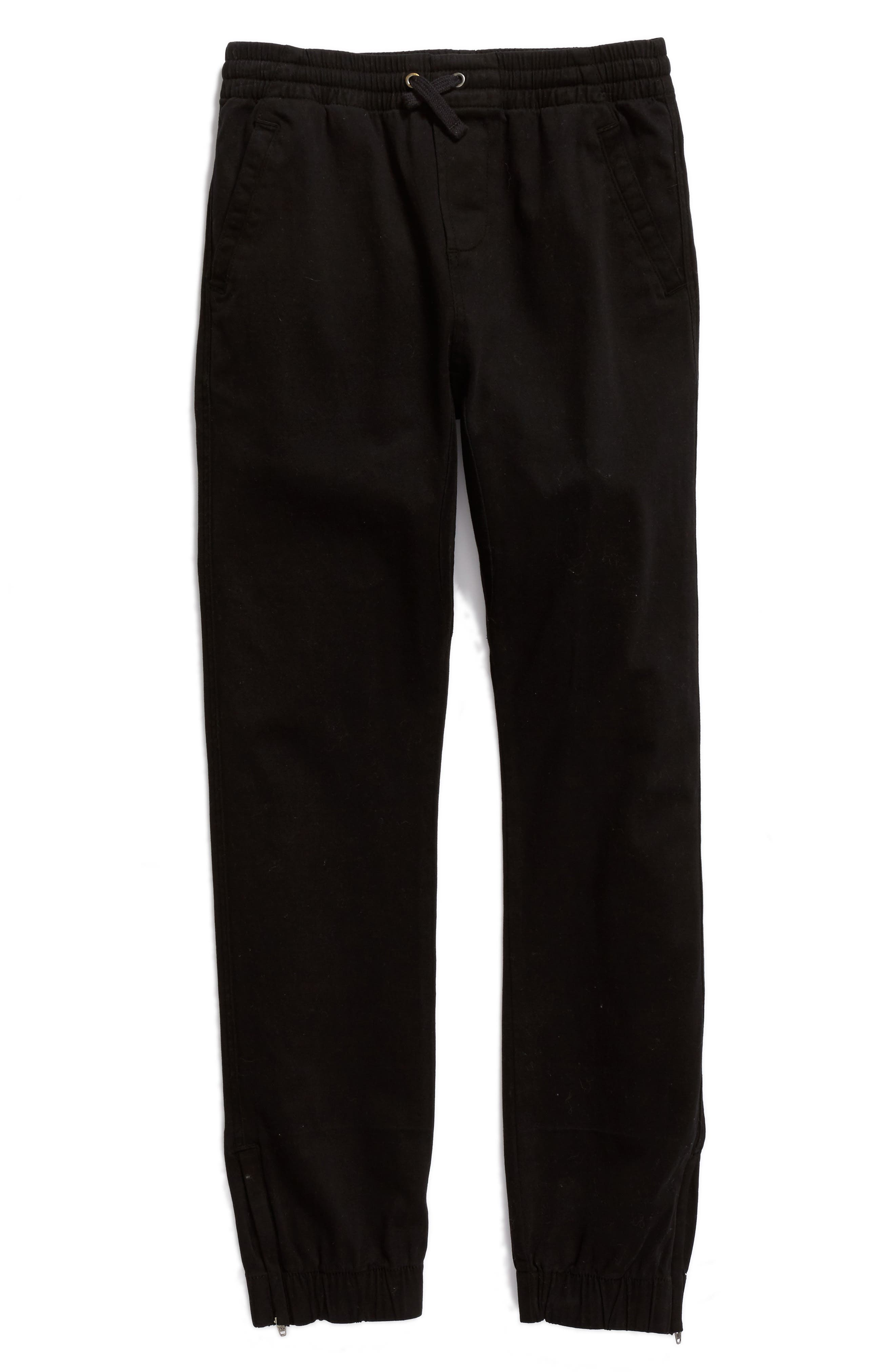 Washed Sweatpants,                             Main thumbnail 1, color,                             Black