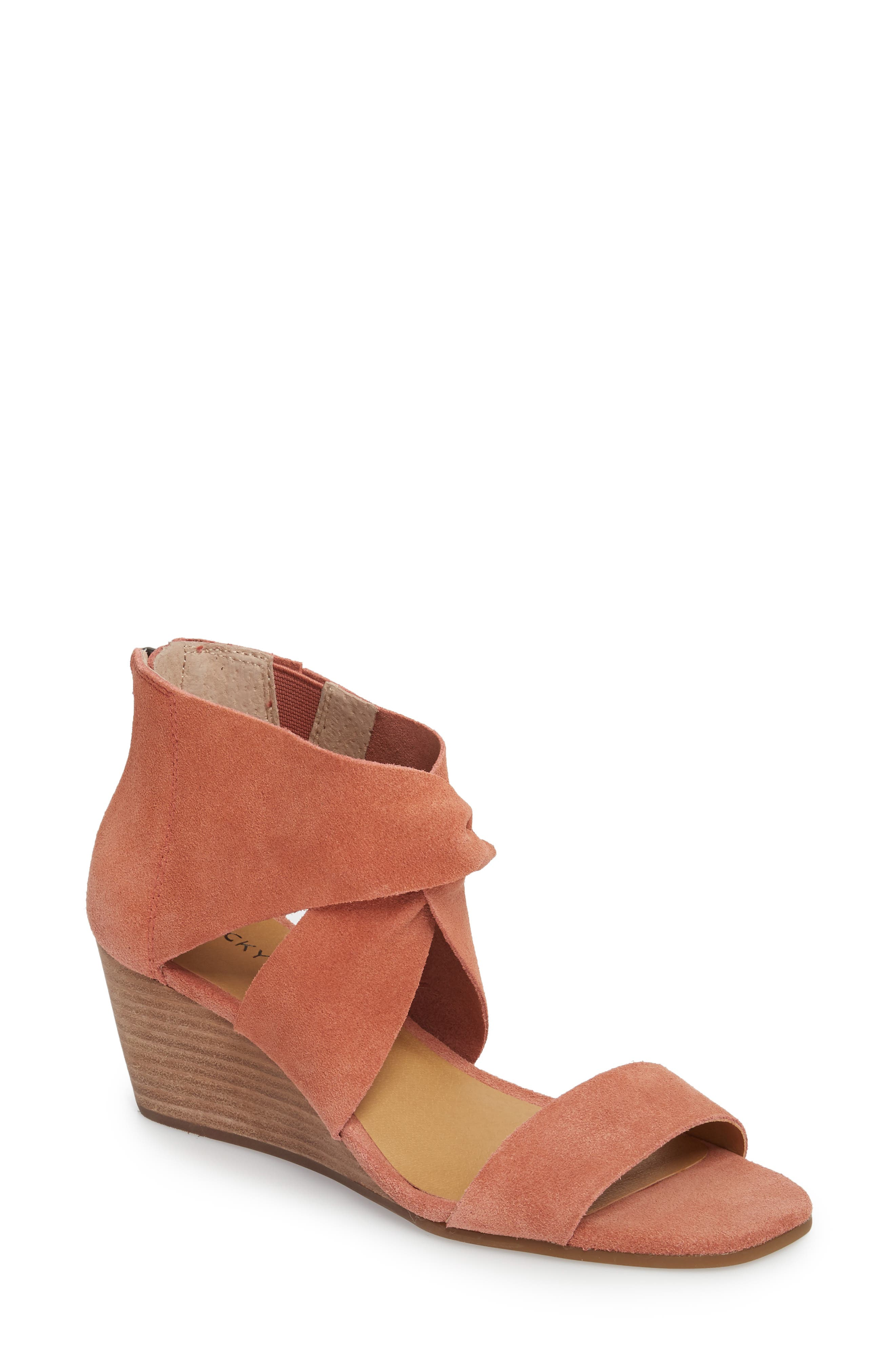 Lucky Brand Tammanee Wedge Sandal (Women)