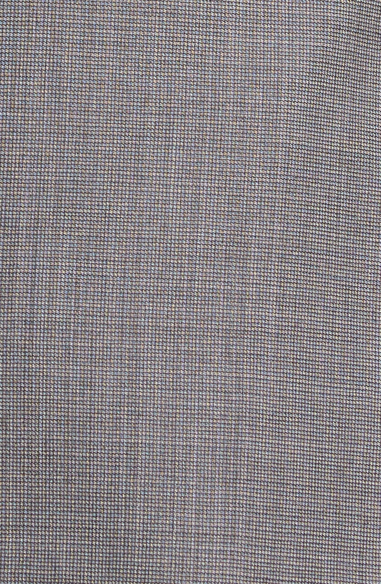 Roger Extra Slim Fit Solid Wool Suit,                             Alternate thumbnail 5, color,                             Taupe