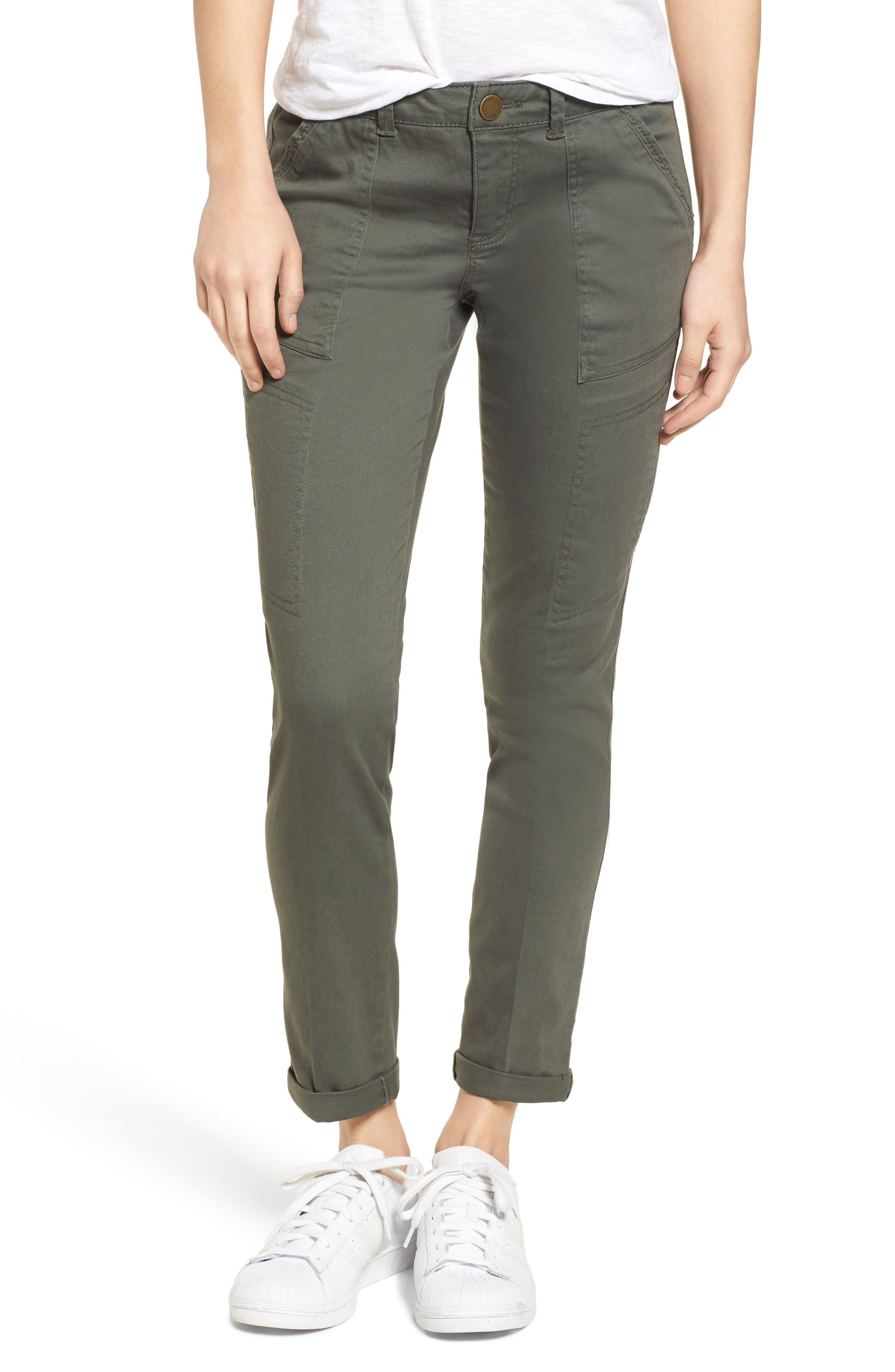 Wit & Wisdom Twill Cargo Pants (Nordstrom Exclusive)