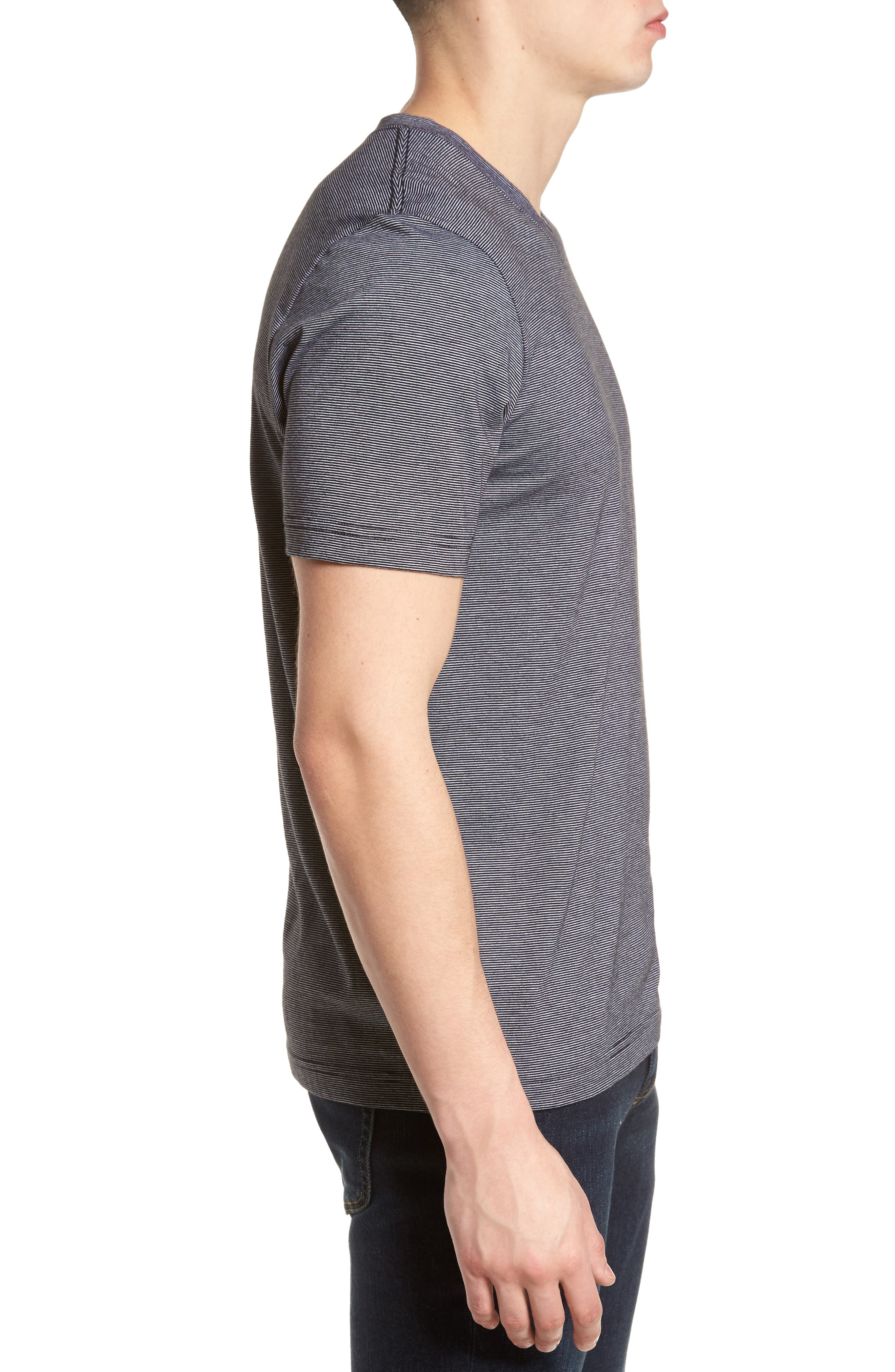 El Presidente T-Shirt,                             Alternate thumbnail 3, color,                             Black/ White