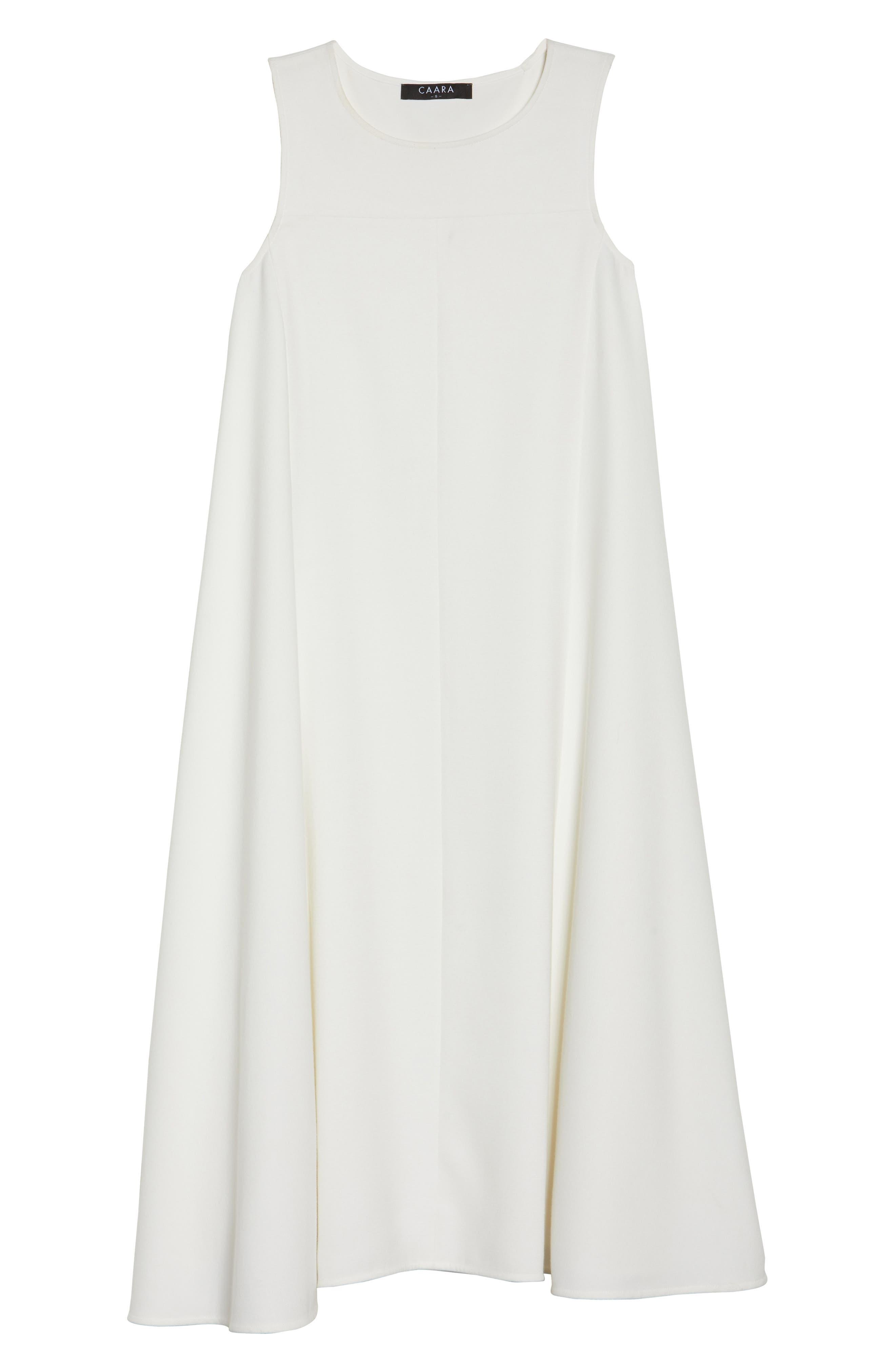 Sunday Brunch Sleeveless Midi Dress,                             Alternate thumbnail 6, color,                             White