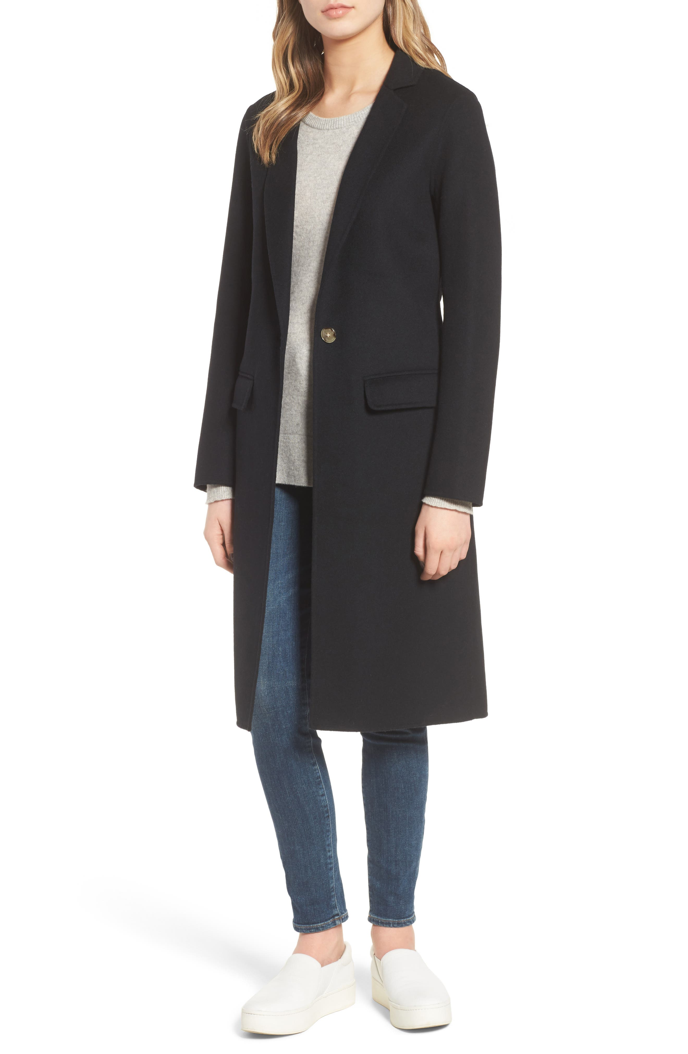 Alternate Image 1 Selected - Mackage Hens Double-Face Wool Coat