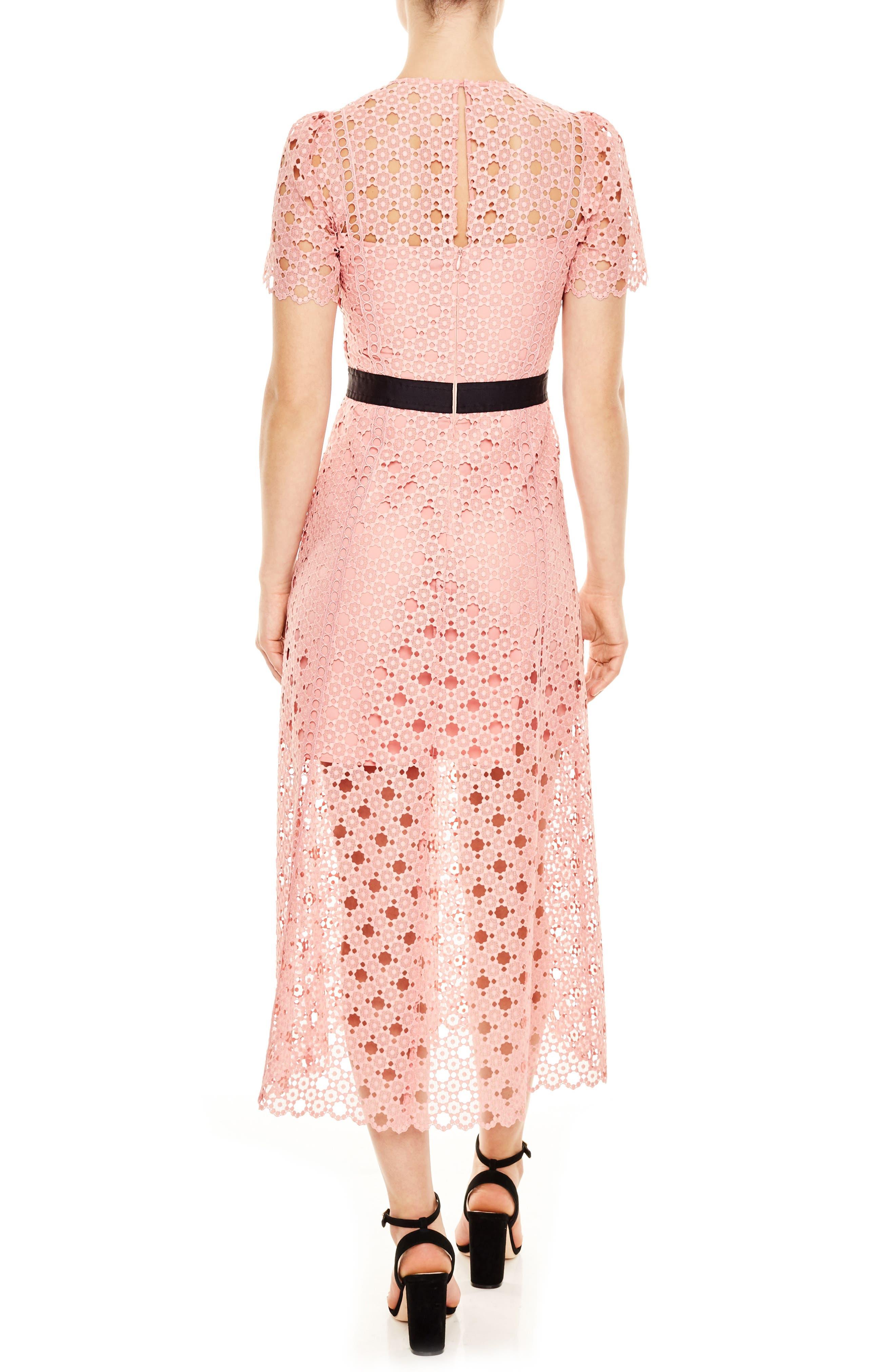 Alternate Image 2  - sandro Pivoine Eyelet Lace Dress