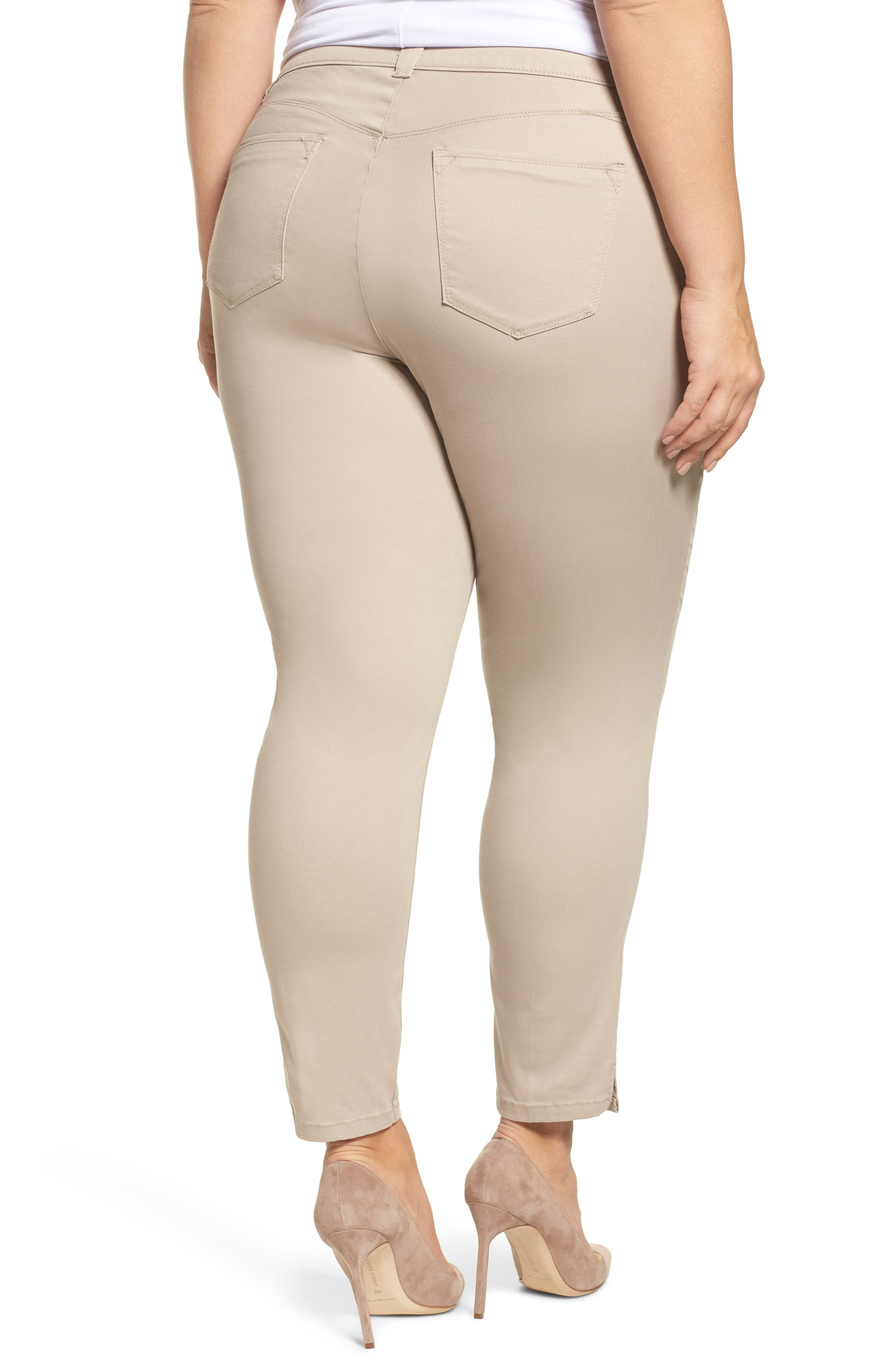 Ab-solution Ankle Pants,                             Alternate thumbnail 2, color,                             Flax