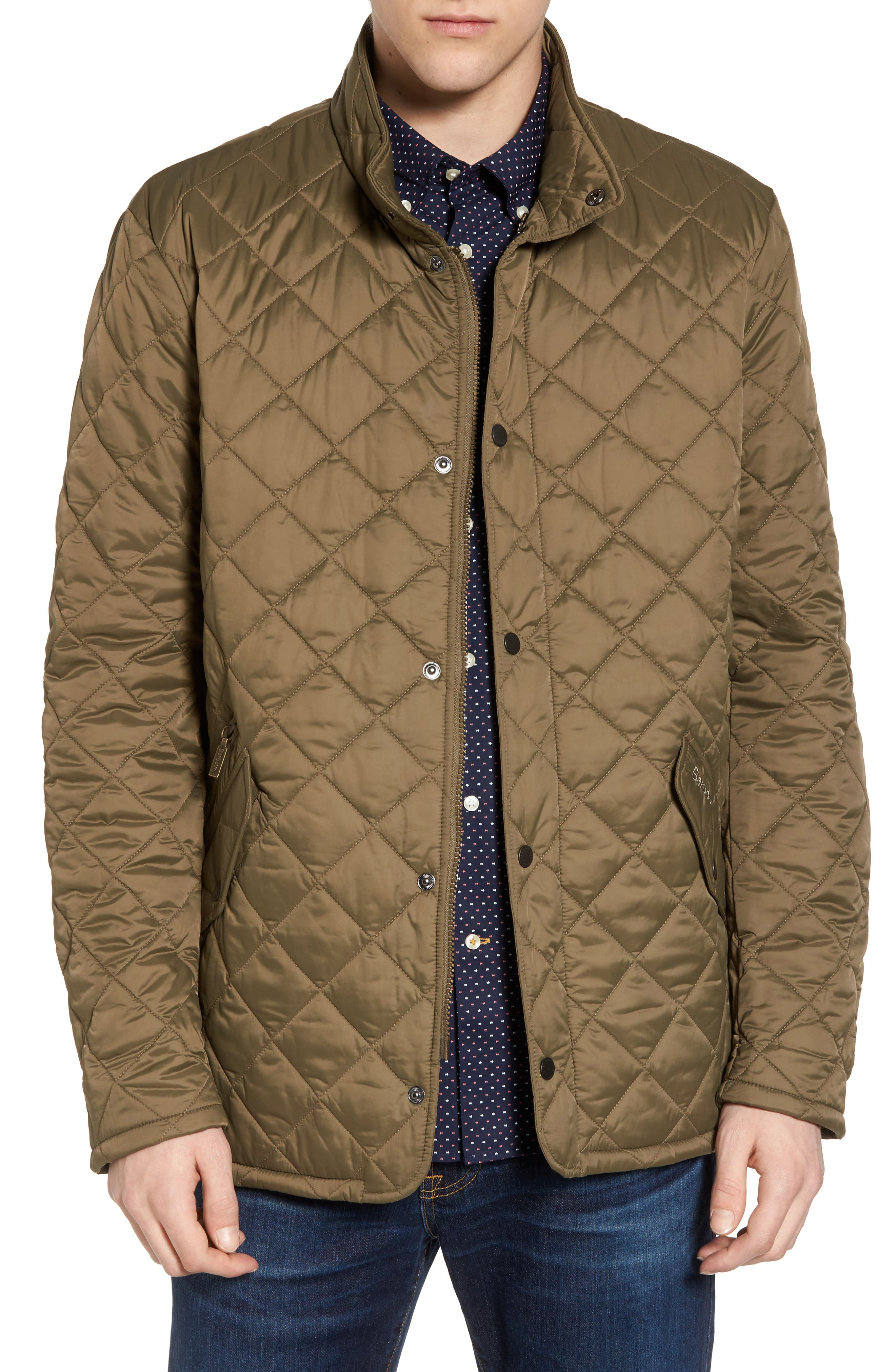 Flyweight Chelsea Quilted Jacket,                             Main thumbnail 1, color,                             Clay