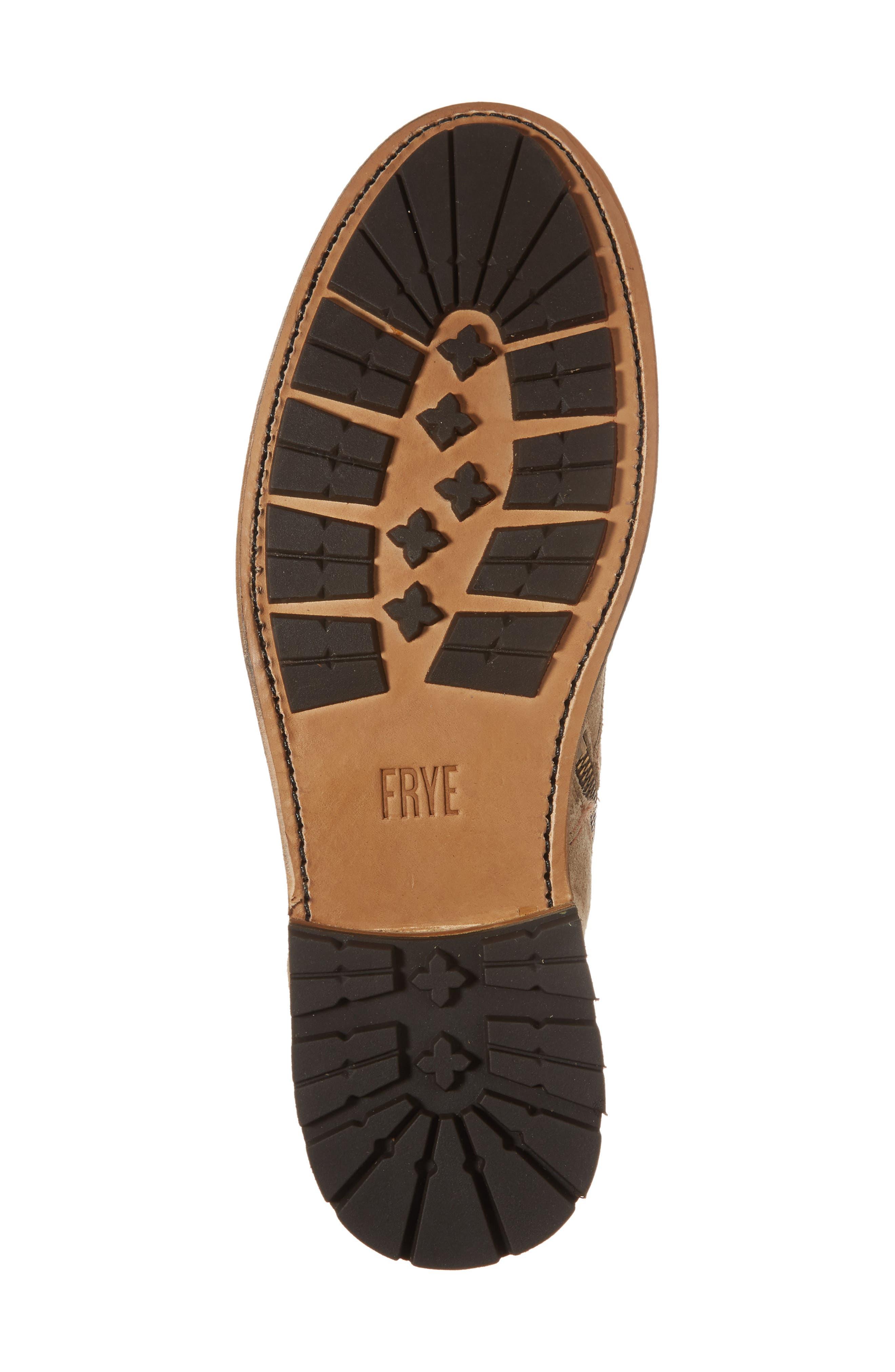Alternate Image 6  - Fry Bowery Side Zip Combat Boot (Men)