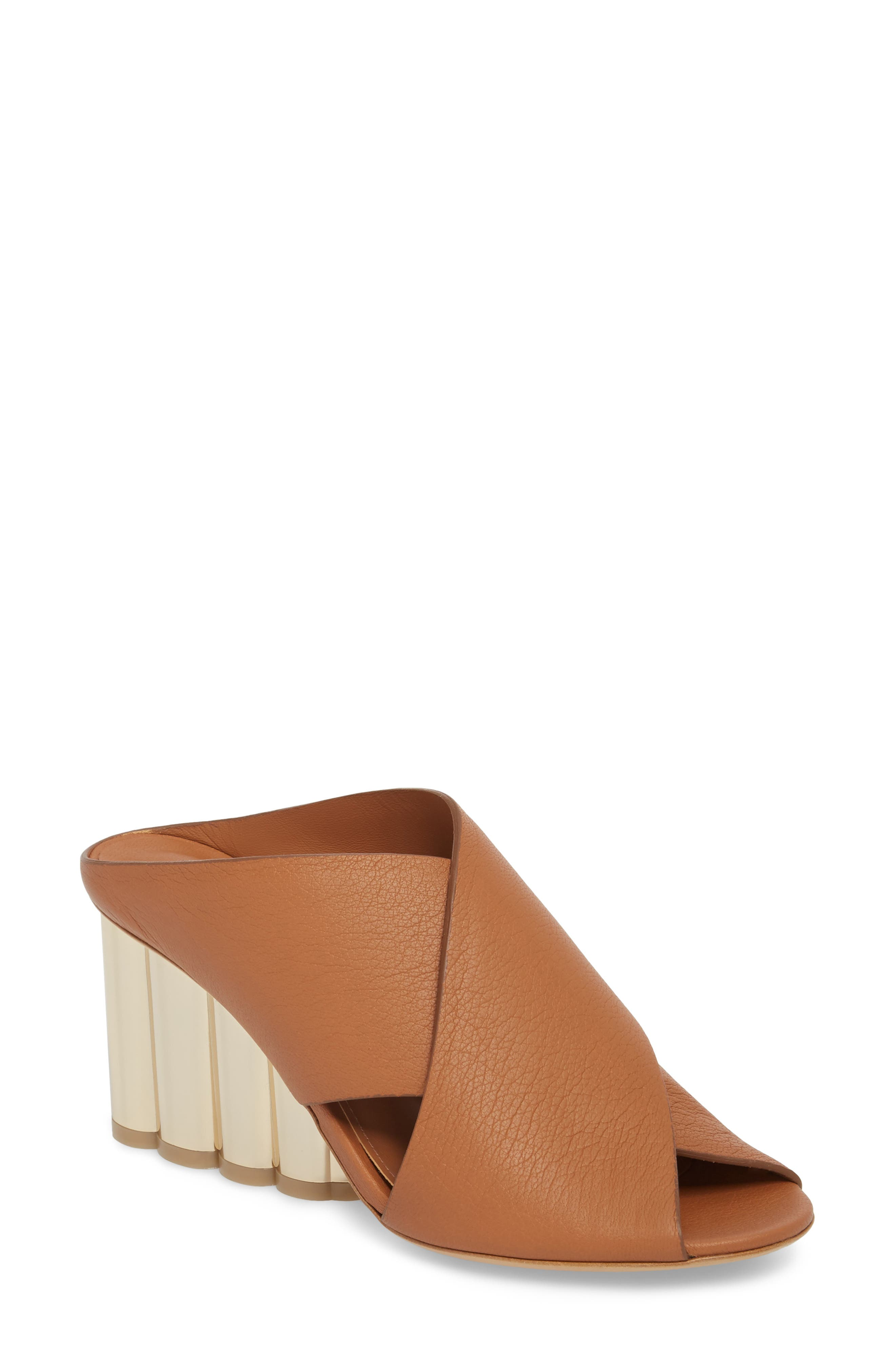 Salvatore Ferragamo Lasa Cross Strap Mule Sandal (Women)