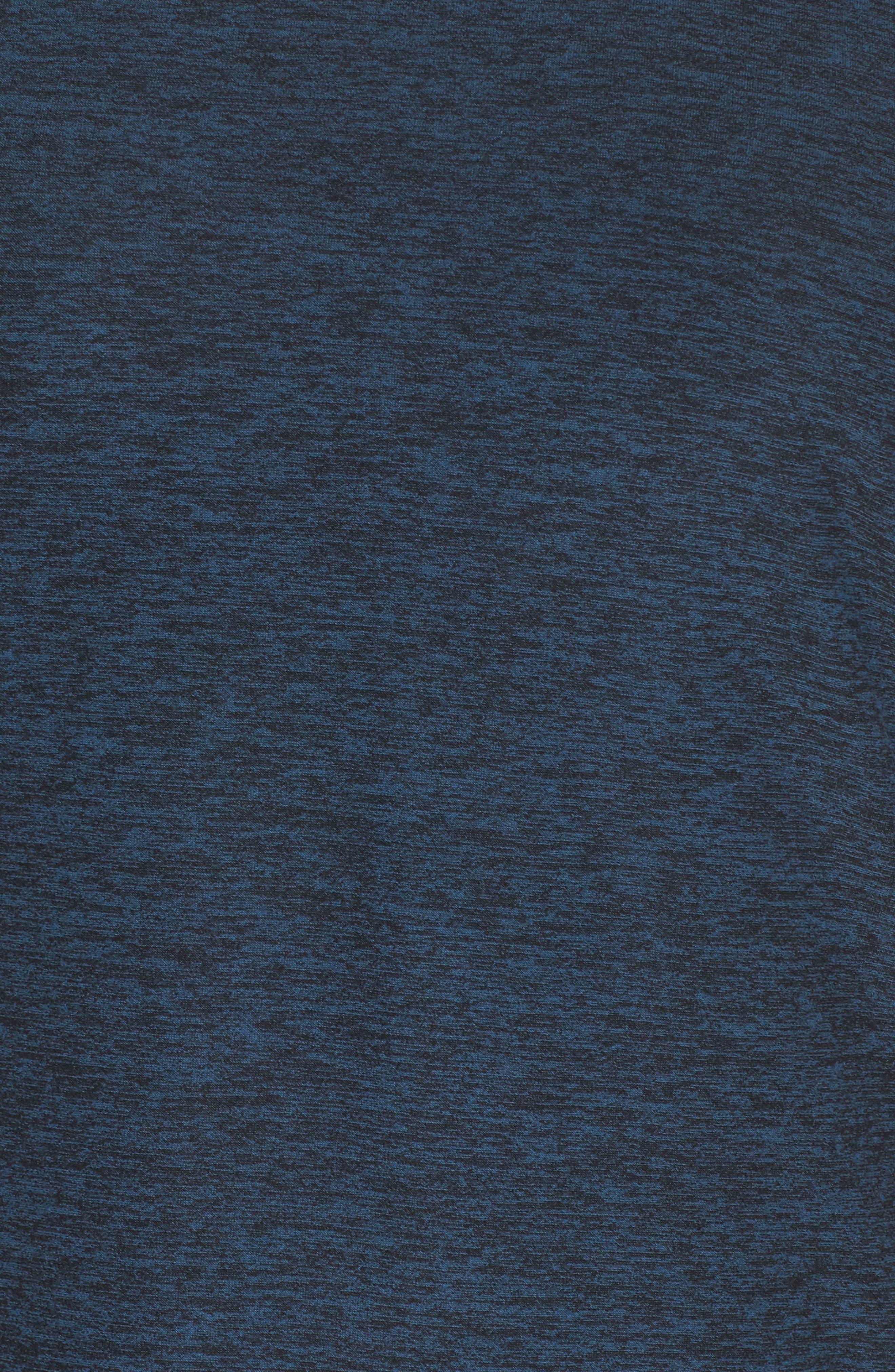 Weekend Traveler Pullover,                             Alternate thumbnail 6, color,                             Black- Deep Sapphire