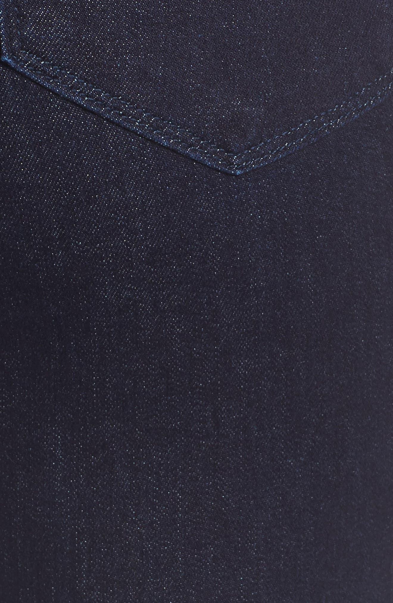 Marilyn Straight Leg Jeans,                             Alternate thumbnail 5, color,                             Rinse