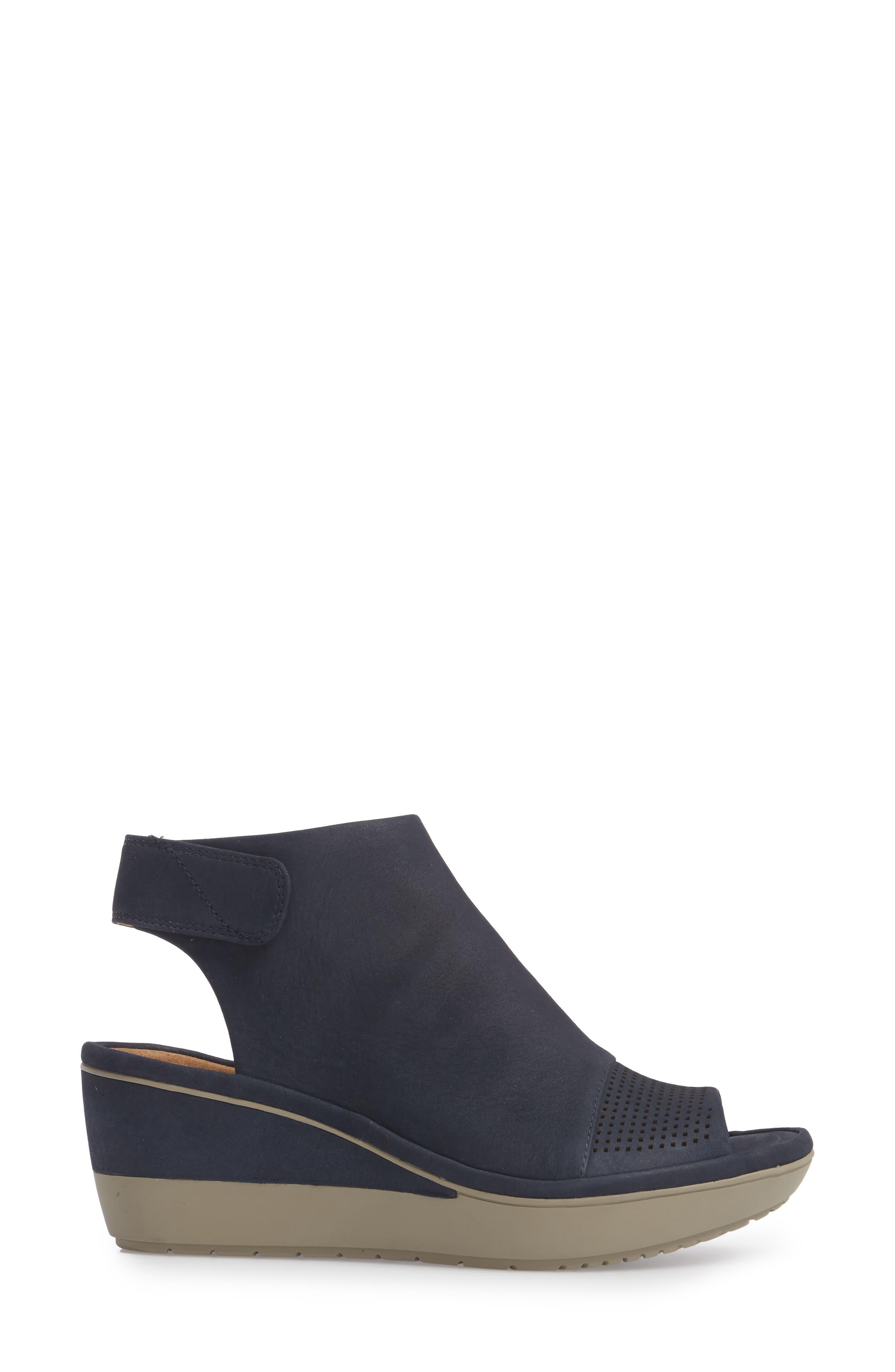 Alternate Image 3  - Clarks® Wynnmere Abie Wedge Sandal (Women)