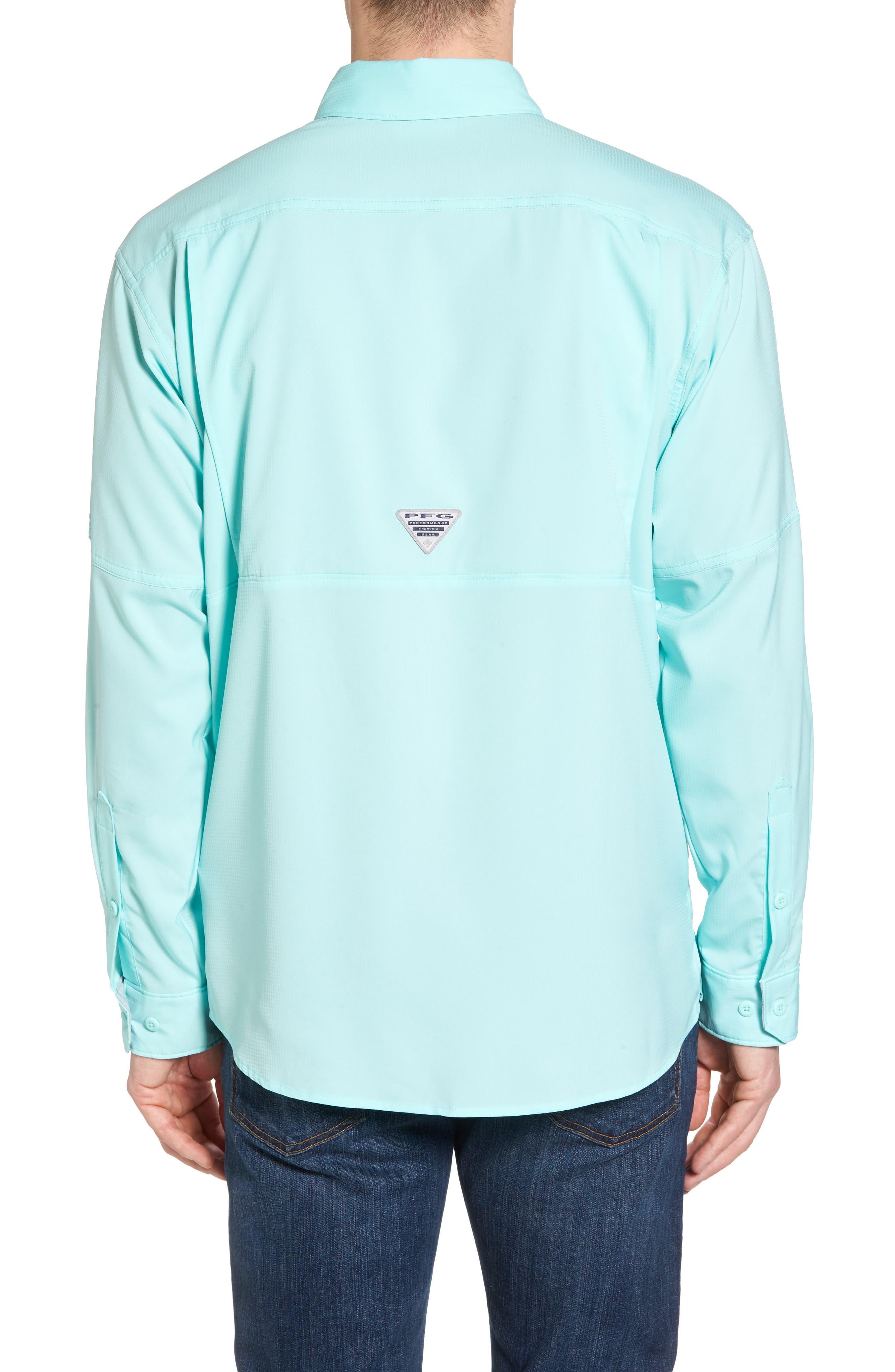 Low Drag Offshore Woven Shirt,                             Alternate thumbnail 2, color,                             Vivid Blue