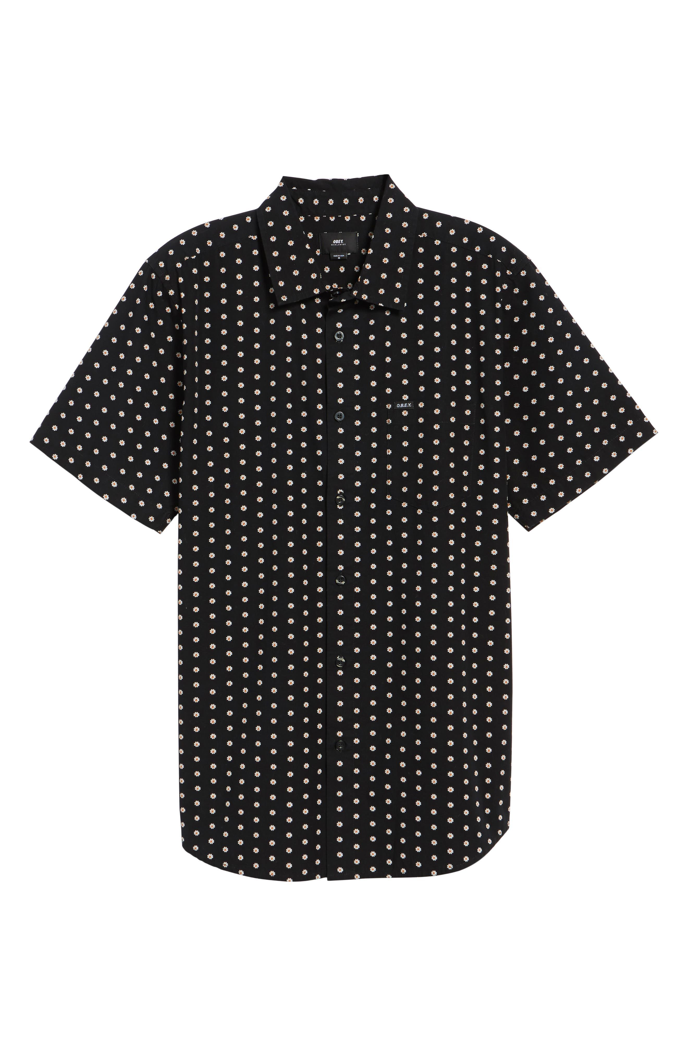 Alternate Image 6  - Obey Brighton Short Sleeve Shirt
