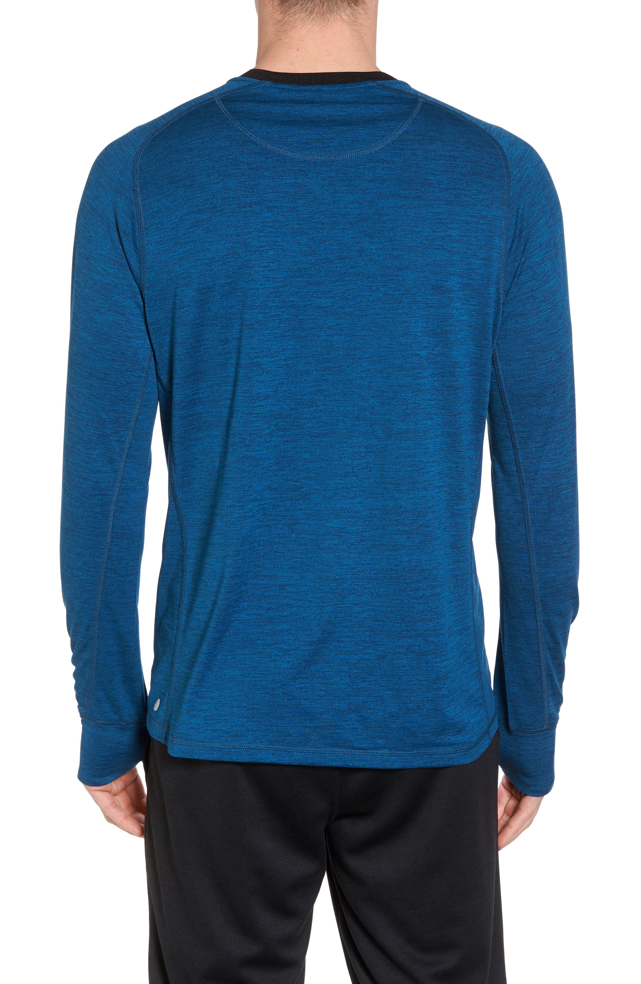 Larosite Athletic Fit T-Shirt,                             Alternate thumbnail 2, color,                             Blue Iolite Melange