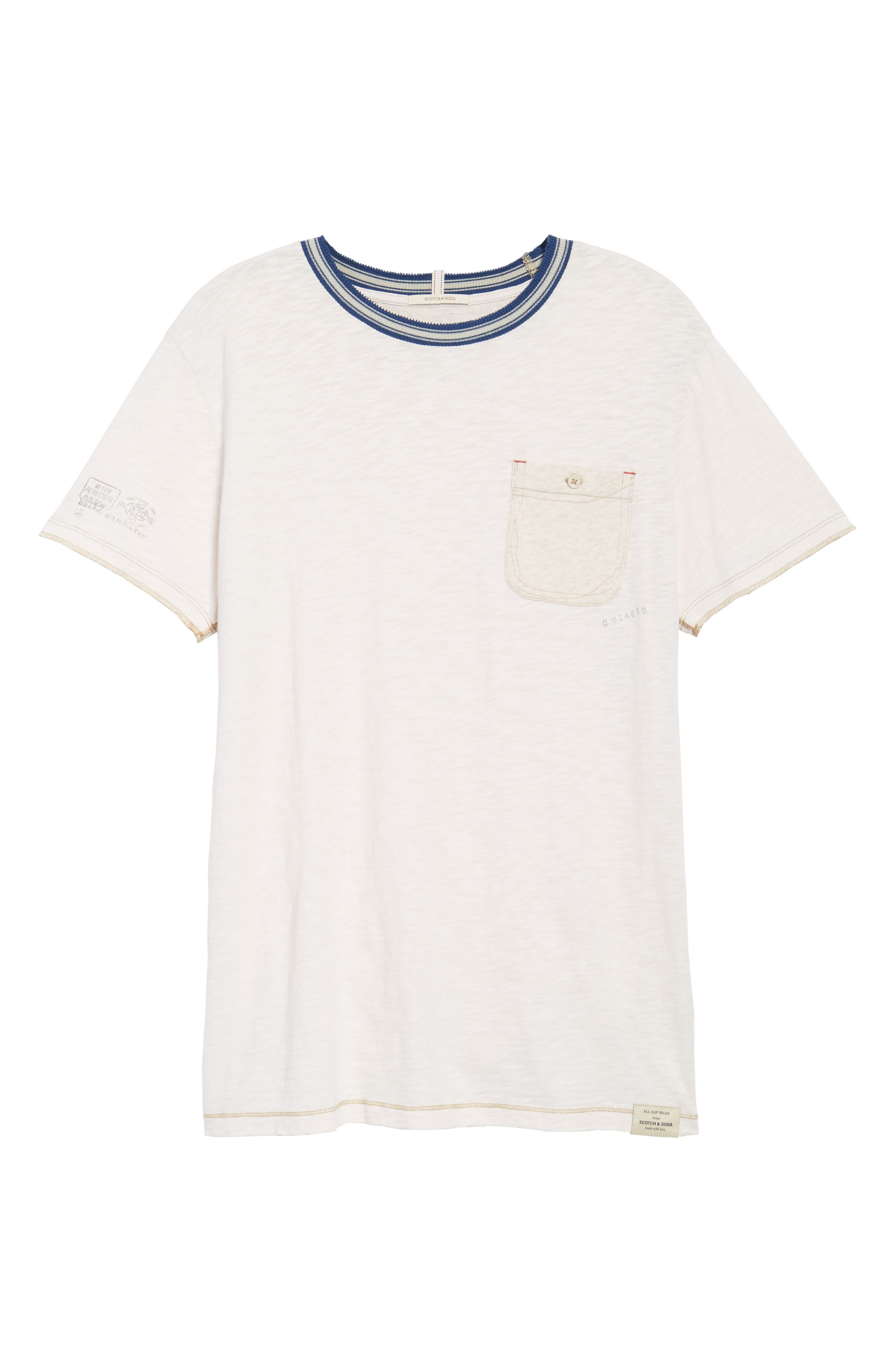Contrast T-Shirt,                             Alternate thumbnail 6, color,                             Combo A