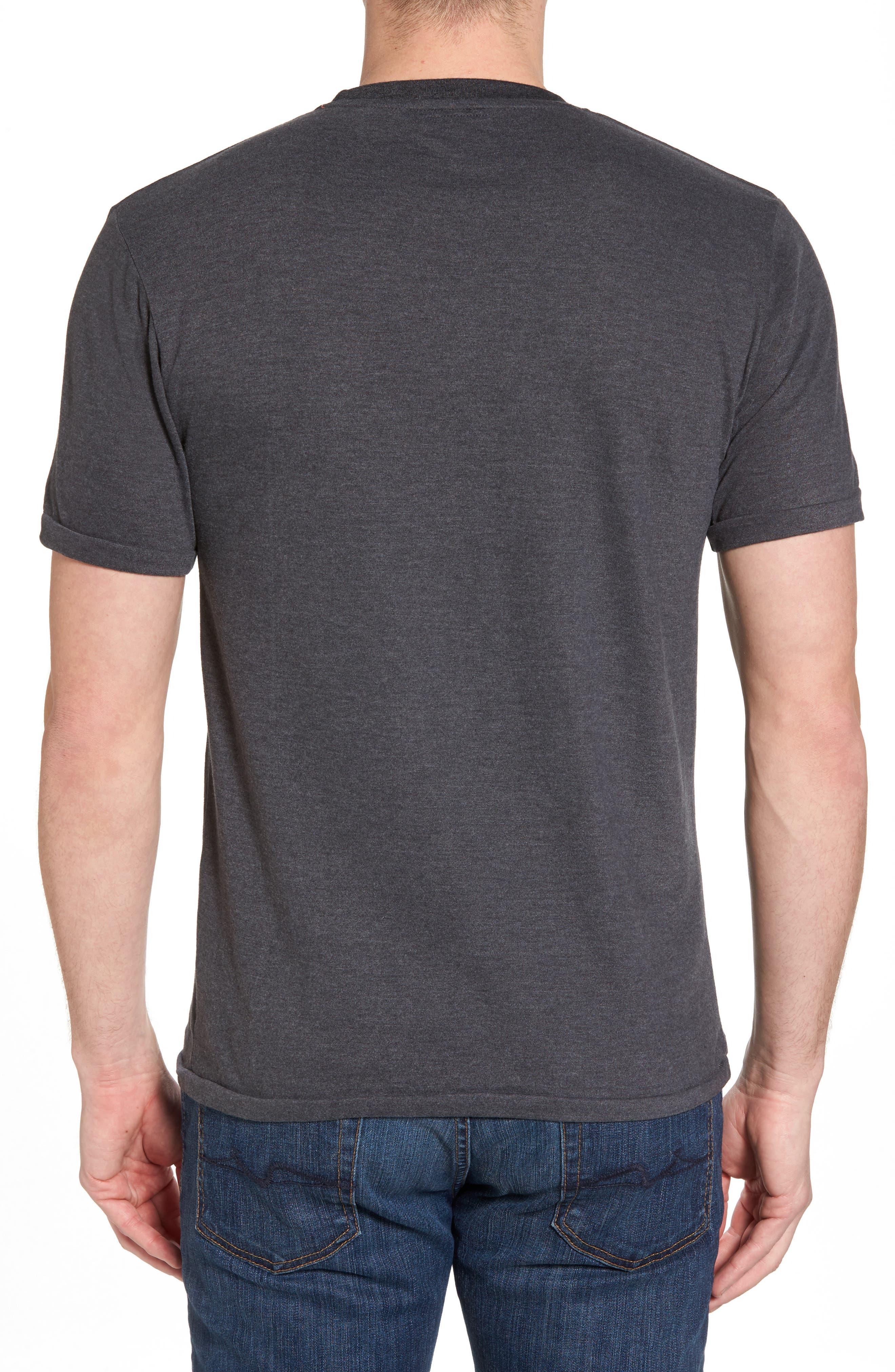 Hillwood Flyers T-Shirt,                             Alternate thumbnail 2, color,                             Heather Black