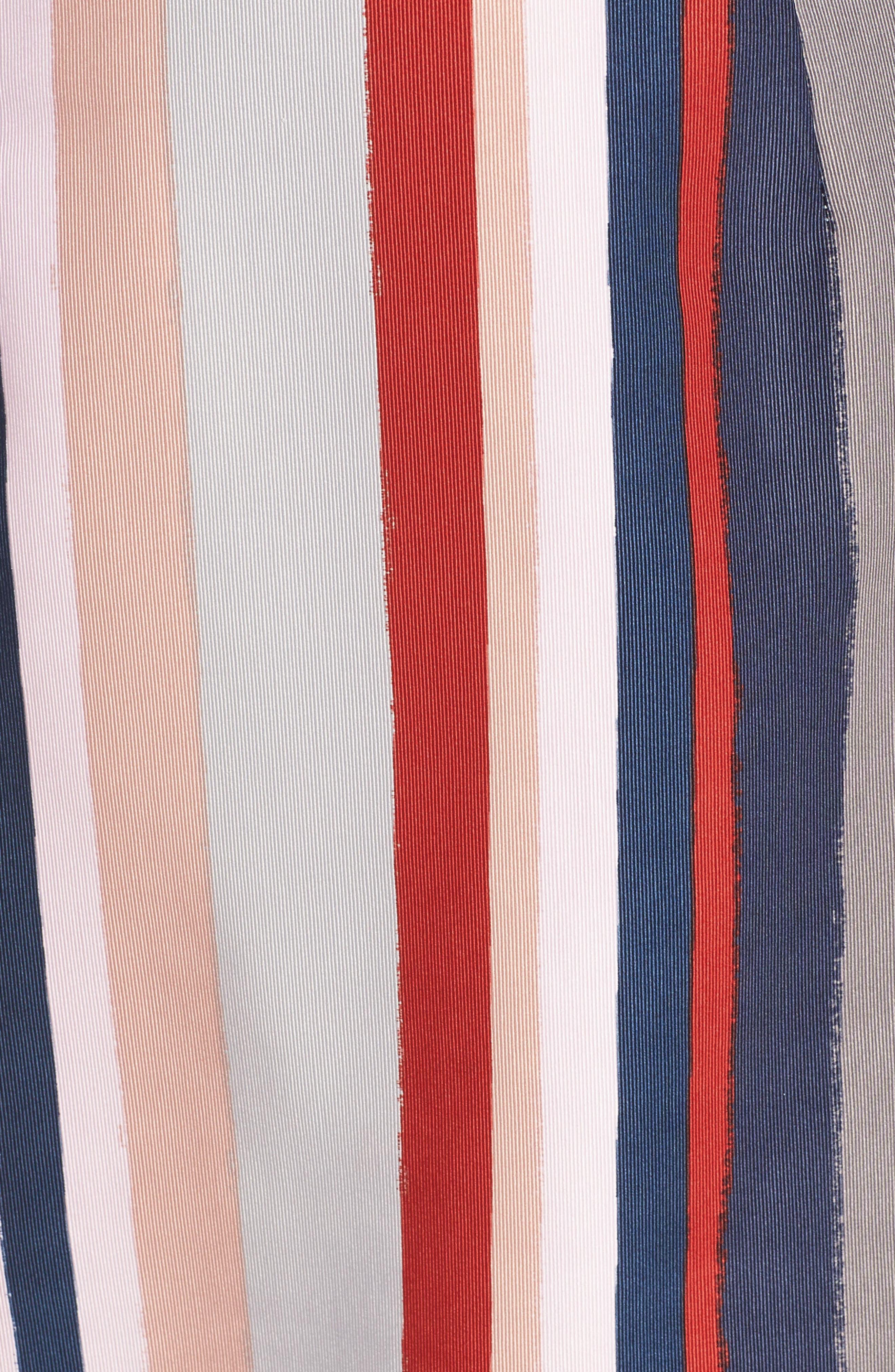 Alternate Image 5  - Sam Edelman Stripe Strapless Dress