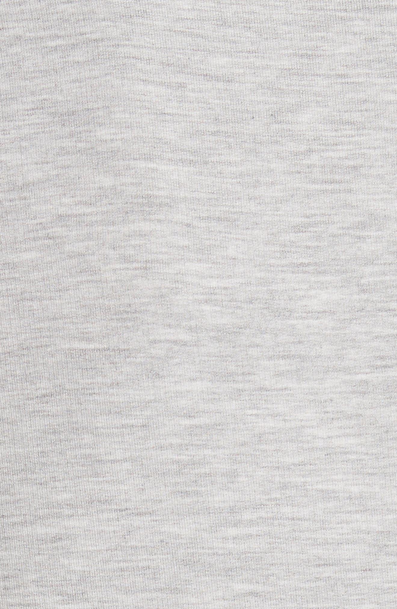 French Terry Pocket Blazer,                             Alternate thumbnail 5, color,                             037-Nacre Chine