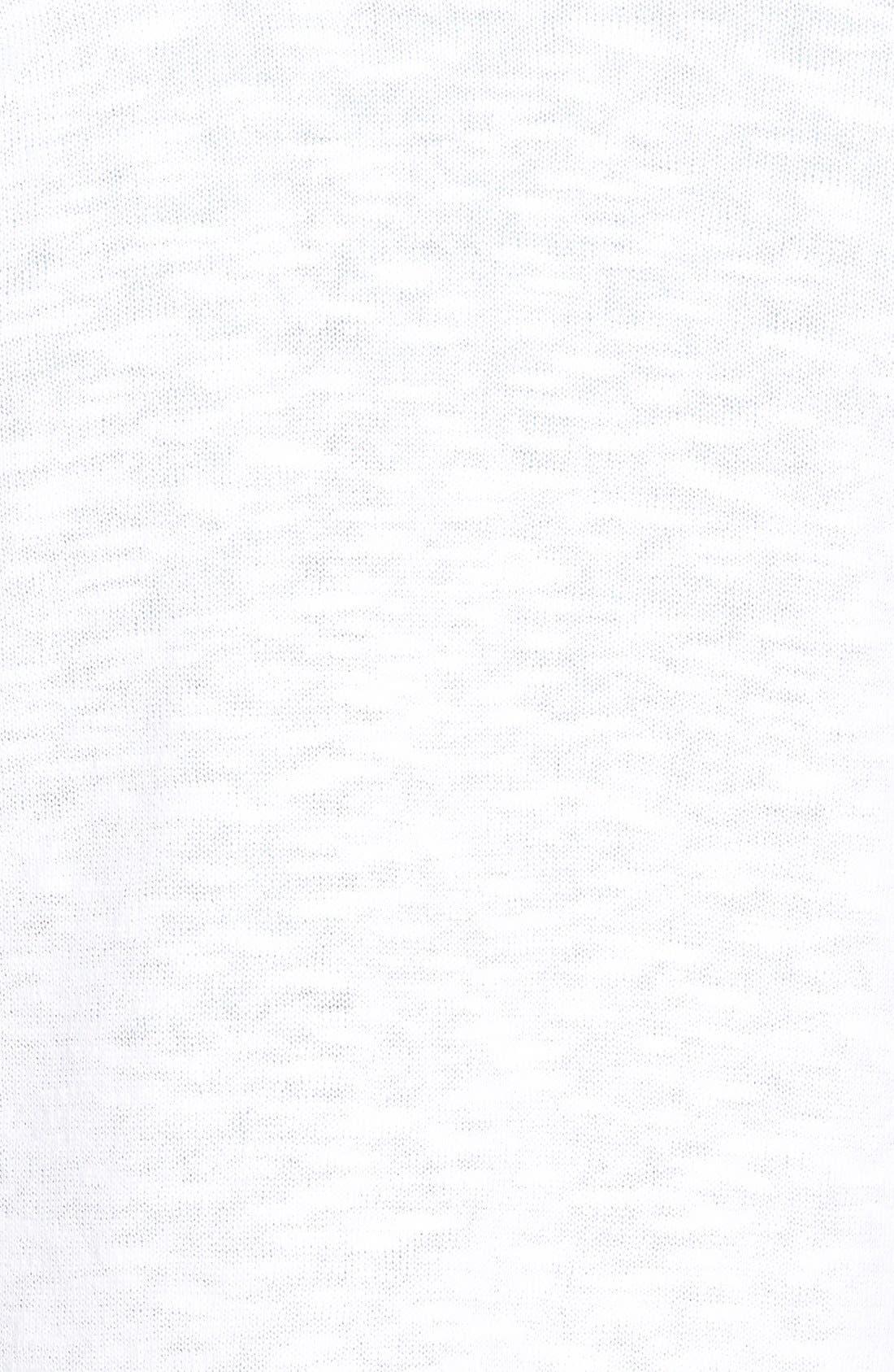 Alternate Image 3  - Eileen Fisher Organic Linen & Cotton Shawl Collar Cardigan (Online Only)
